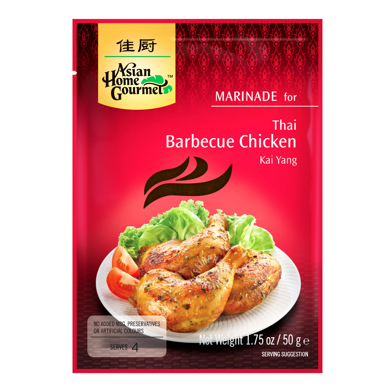 Asian Home Gourmet Marinade - Thai Bbq Chicken
