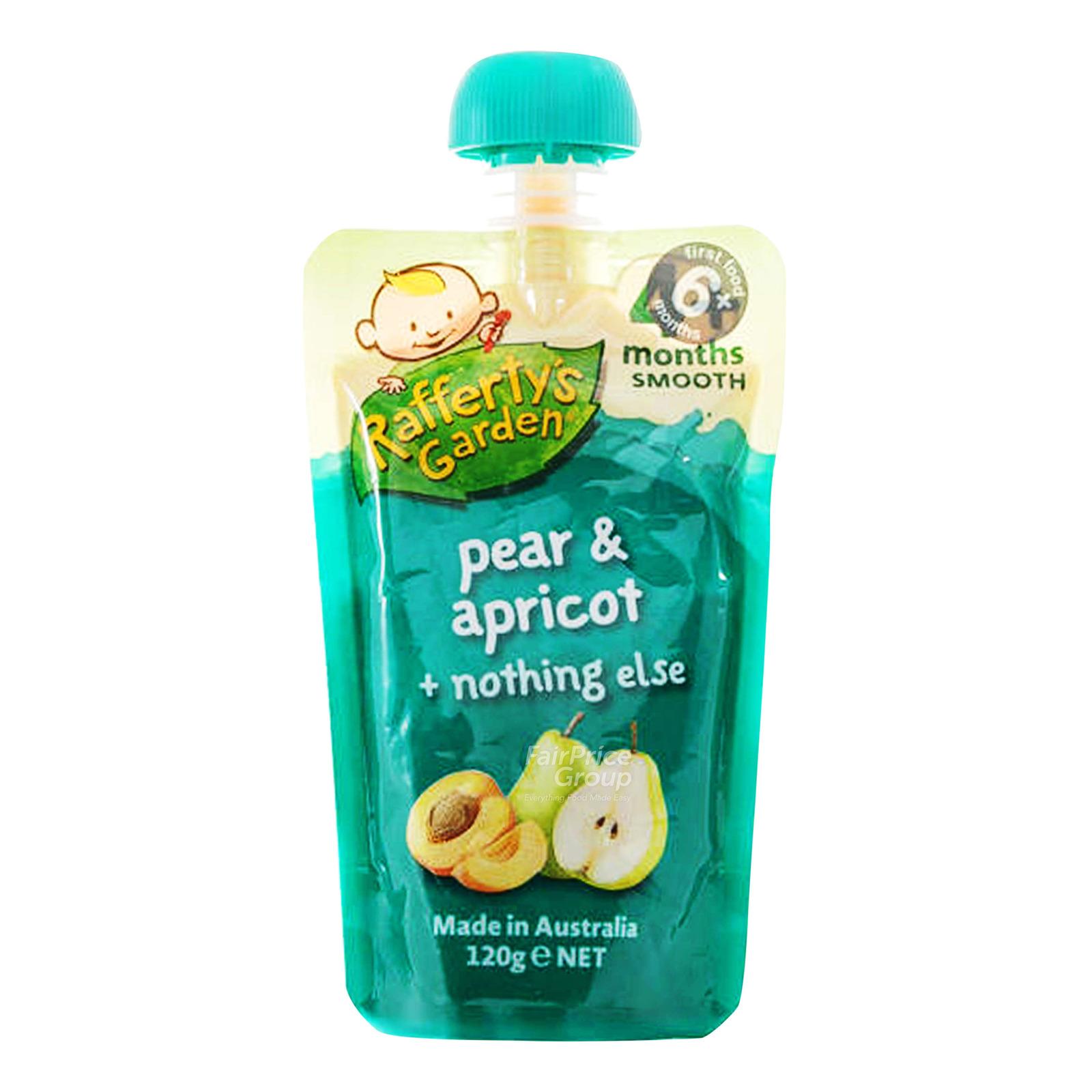 Rafferty's Garden Baby Food - Pear & Apricot