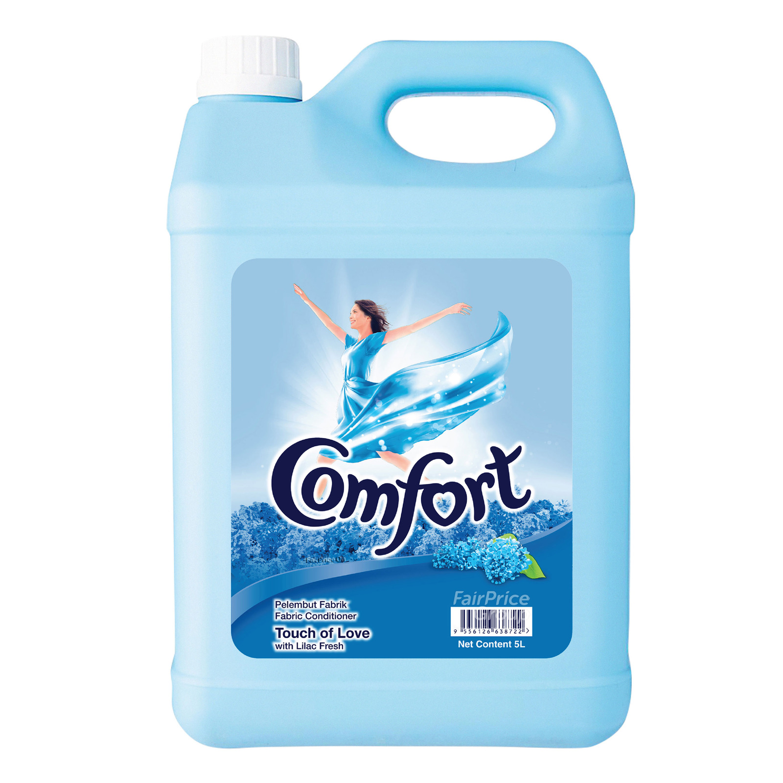 Comfort Fabric Conditioner - Touch of Love with Lilac Fresh