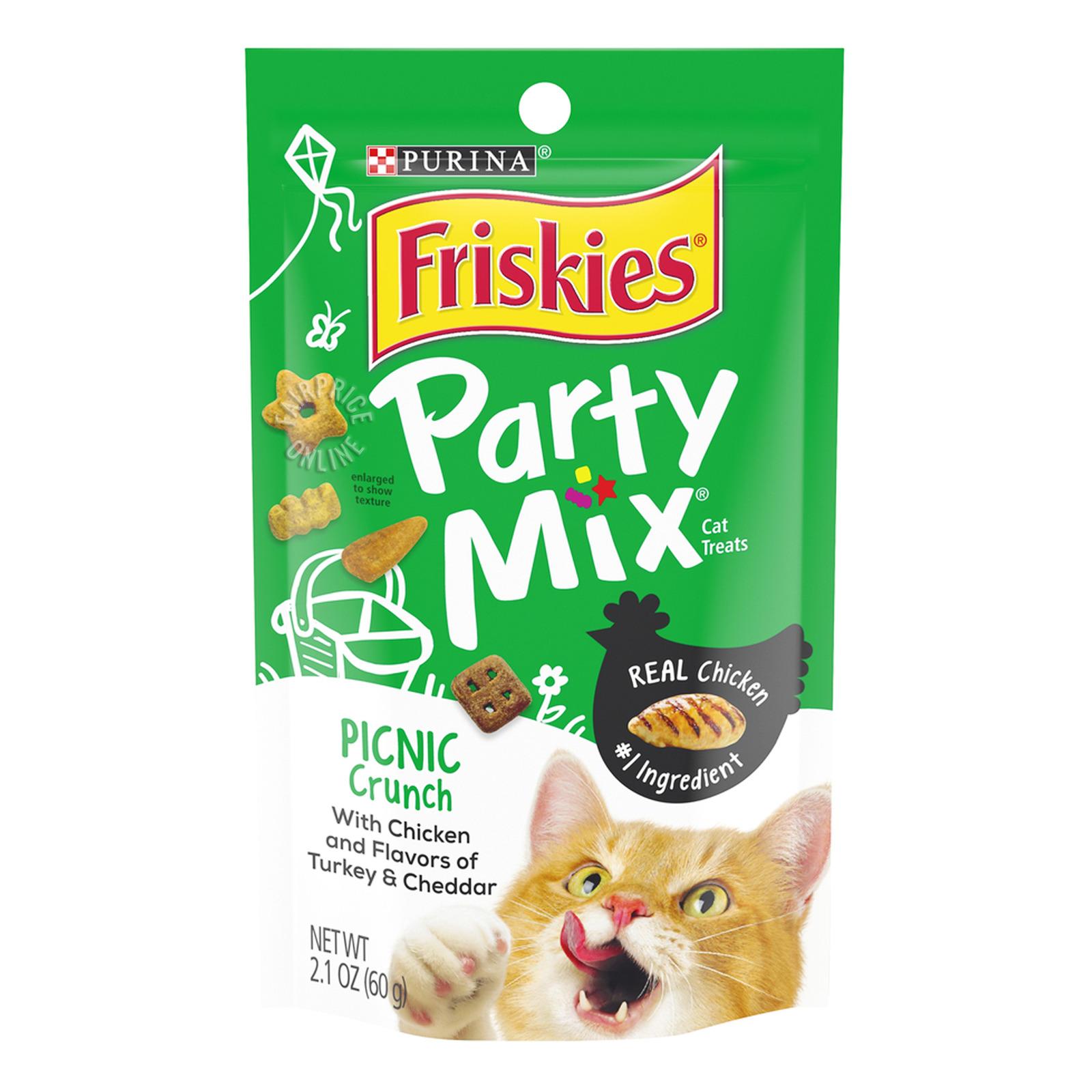 Friskies Party Mix Cat Treats - Picnic Crunch