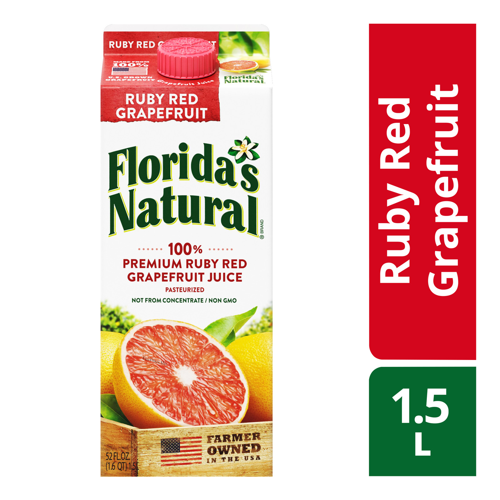 Florida's Natural 100% Fresh Juice - Ruby Red Grapefruit
