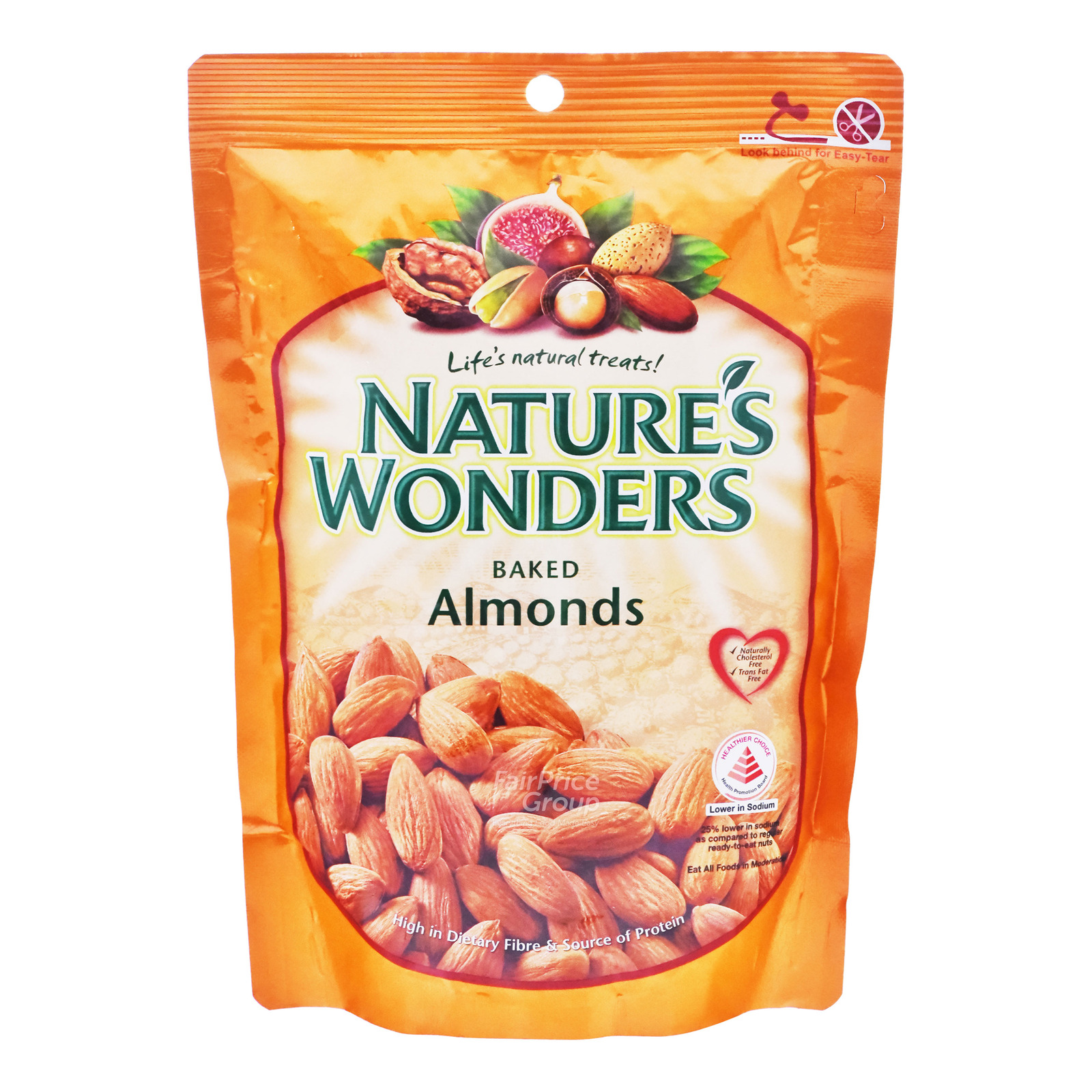 Nature's Wonders Baked Nuts - Almonds