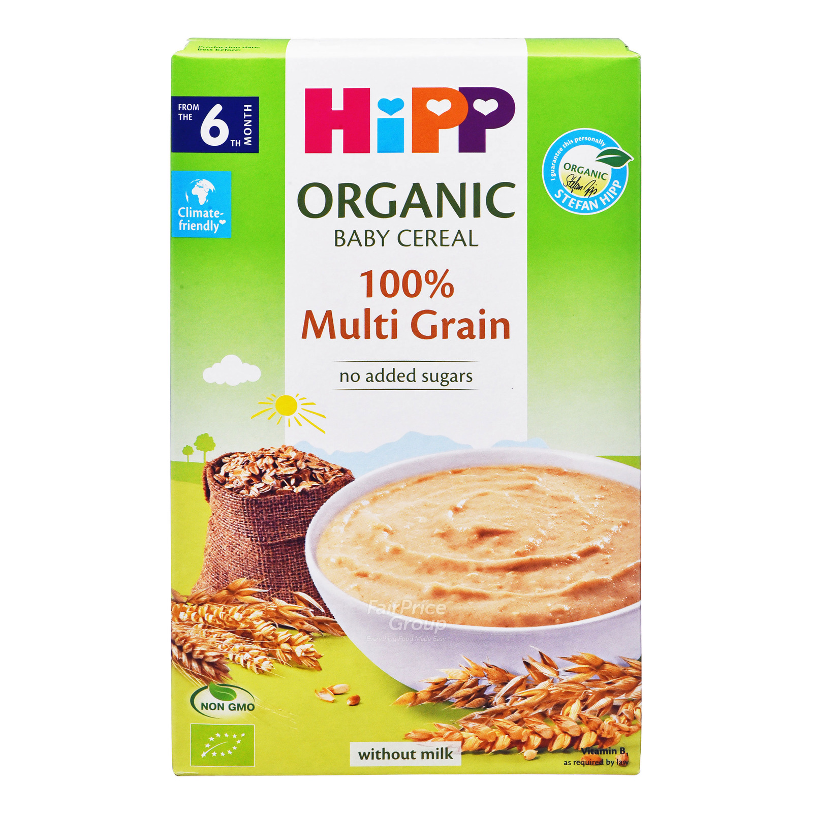 HiPP Organic Cereal Pap without Milk - Multi Grain (6+ Months)