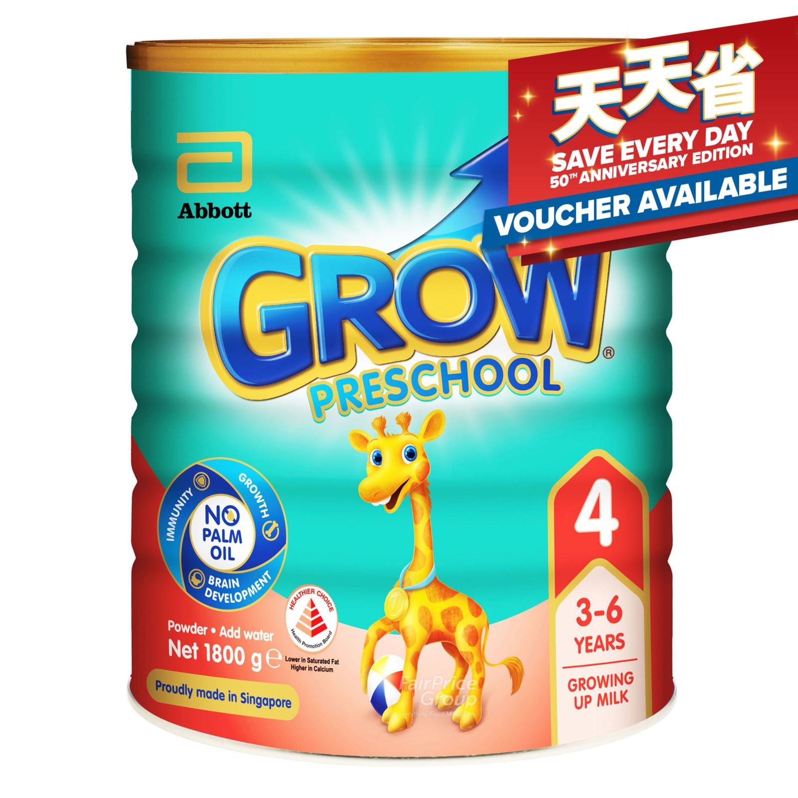 Abbott Grow Preschool Milk Formula - 3 Years Onward
