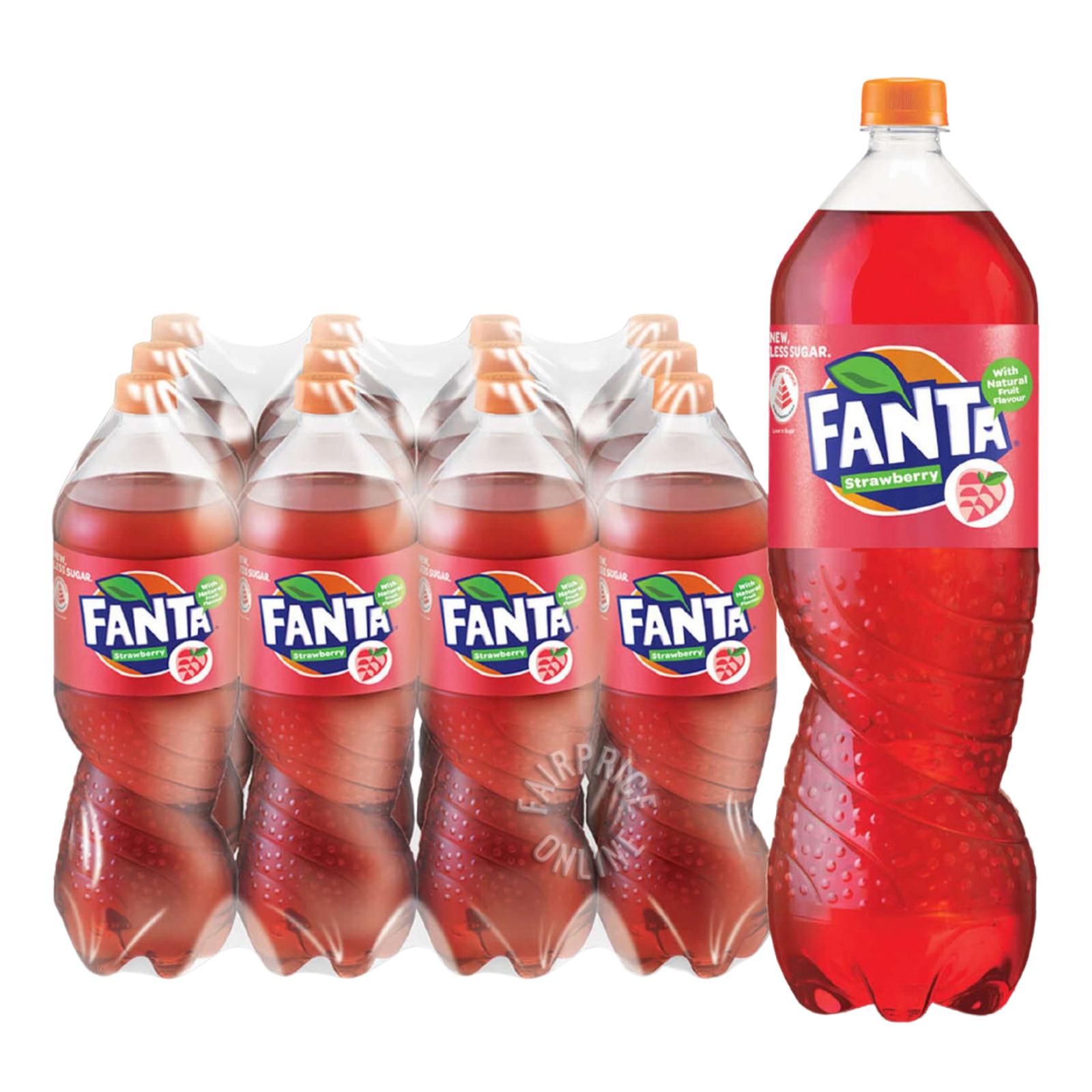 Fanta Bottle Drink - Strawberry
