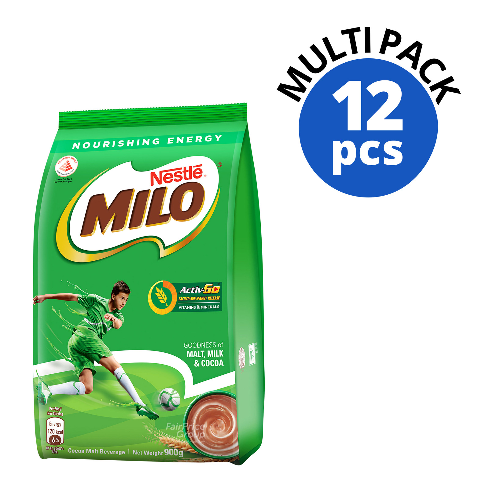 Milo Instant Chocolate Malt Powder Refill - Regular