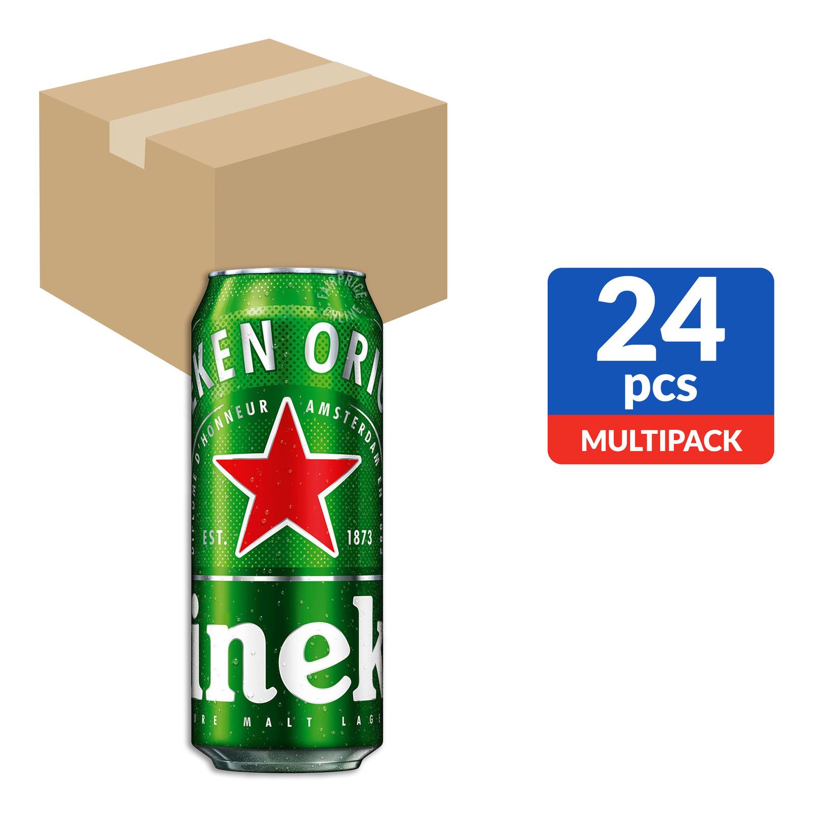 Heineken Premium Lager Can Beer
