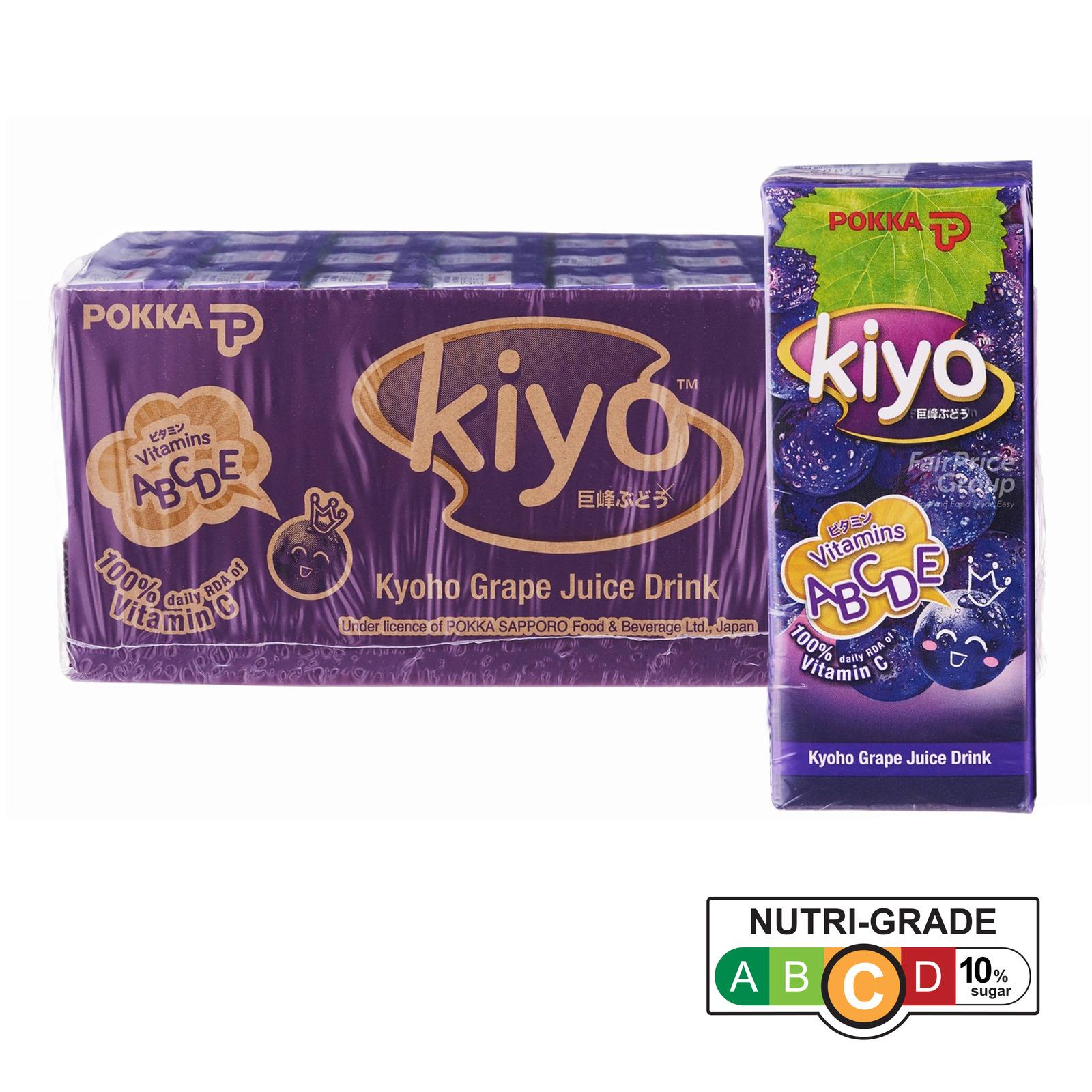 POKKA Kiyo Kyoho Grape Juice Drink 24sX250ml