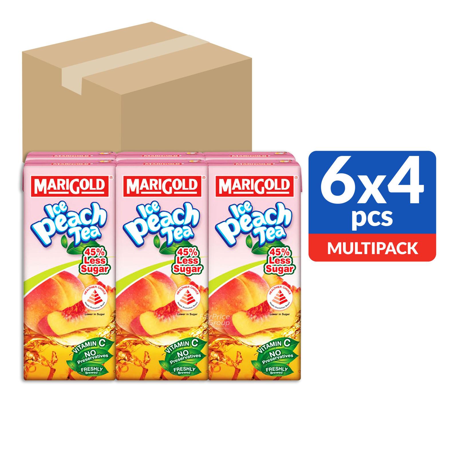 Marigold Packet Drink - Ice Peach Tea (Less Sweet)