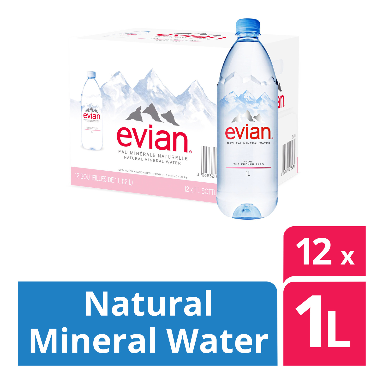 Acqua Panna Natural Mineral Water - Case