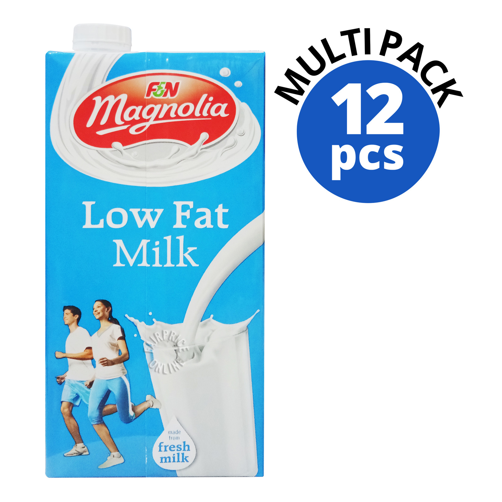 F&N Magnolia UHT Milk - Higher Calcium Low Fat