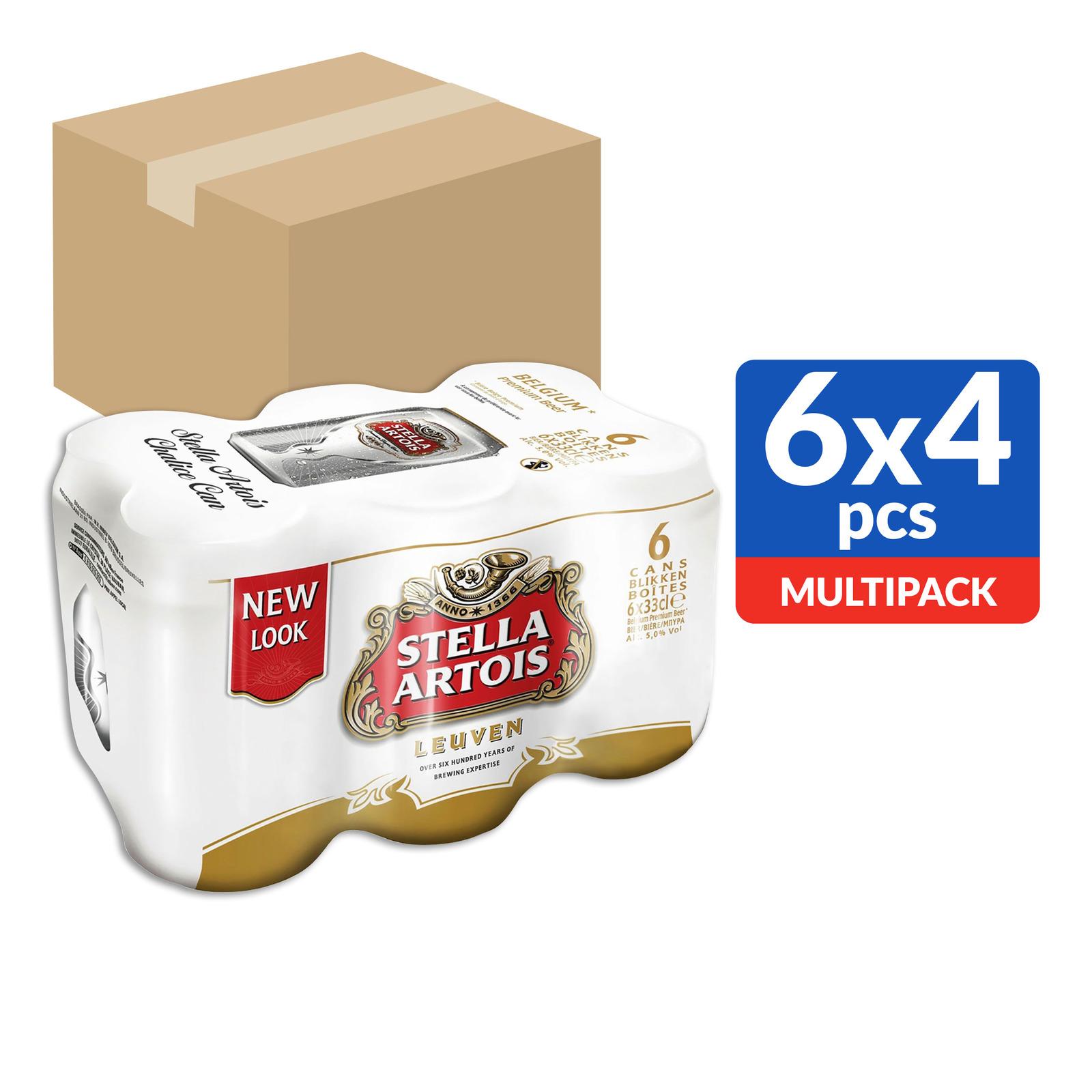 Stella Artois Leuven Lager Can Beer
