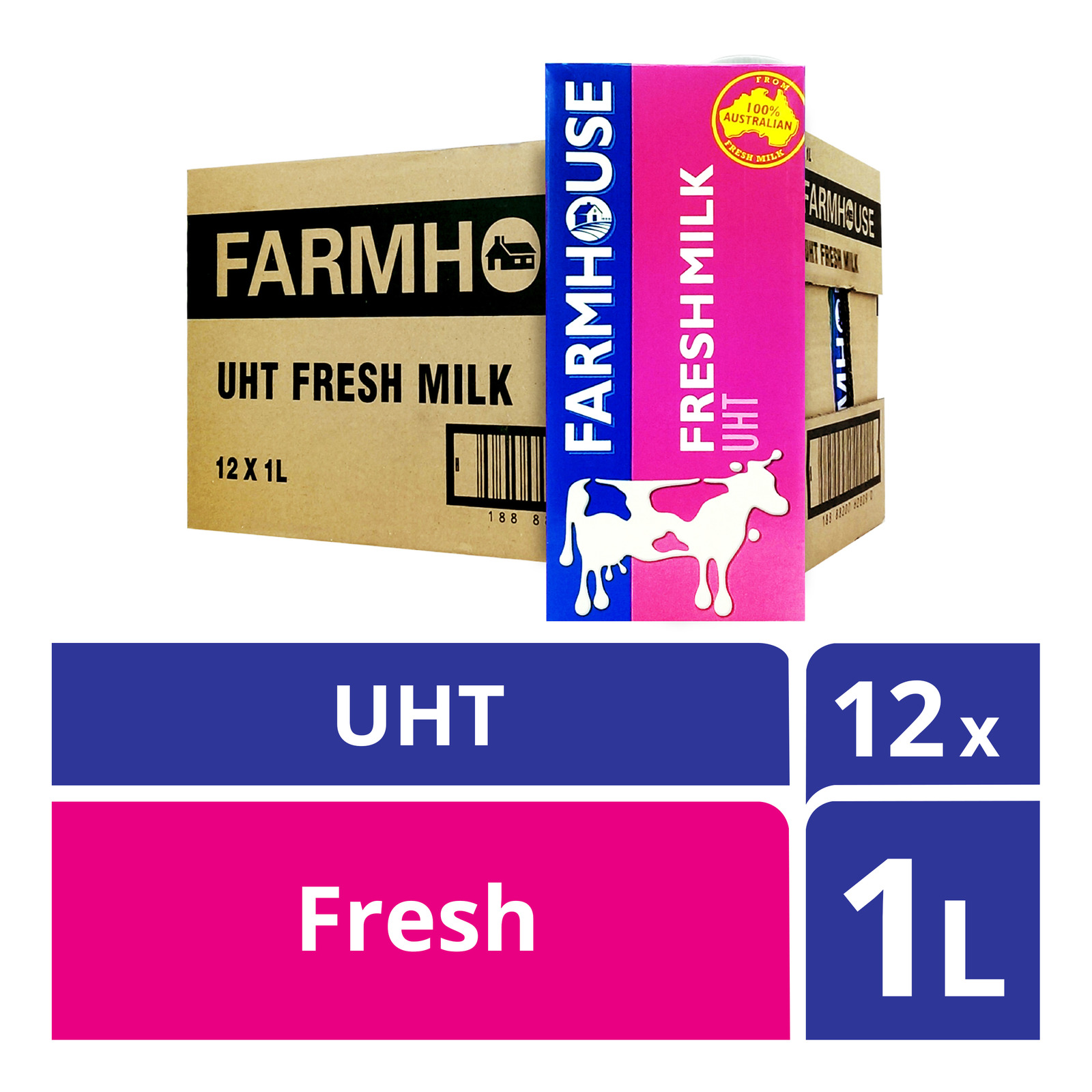 Farmhouse UHT Milk - Fresh