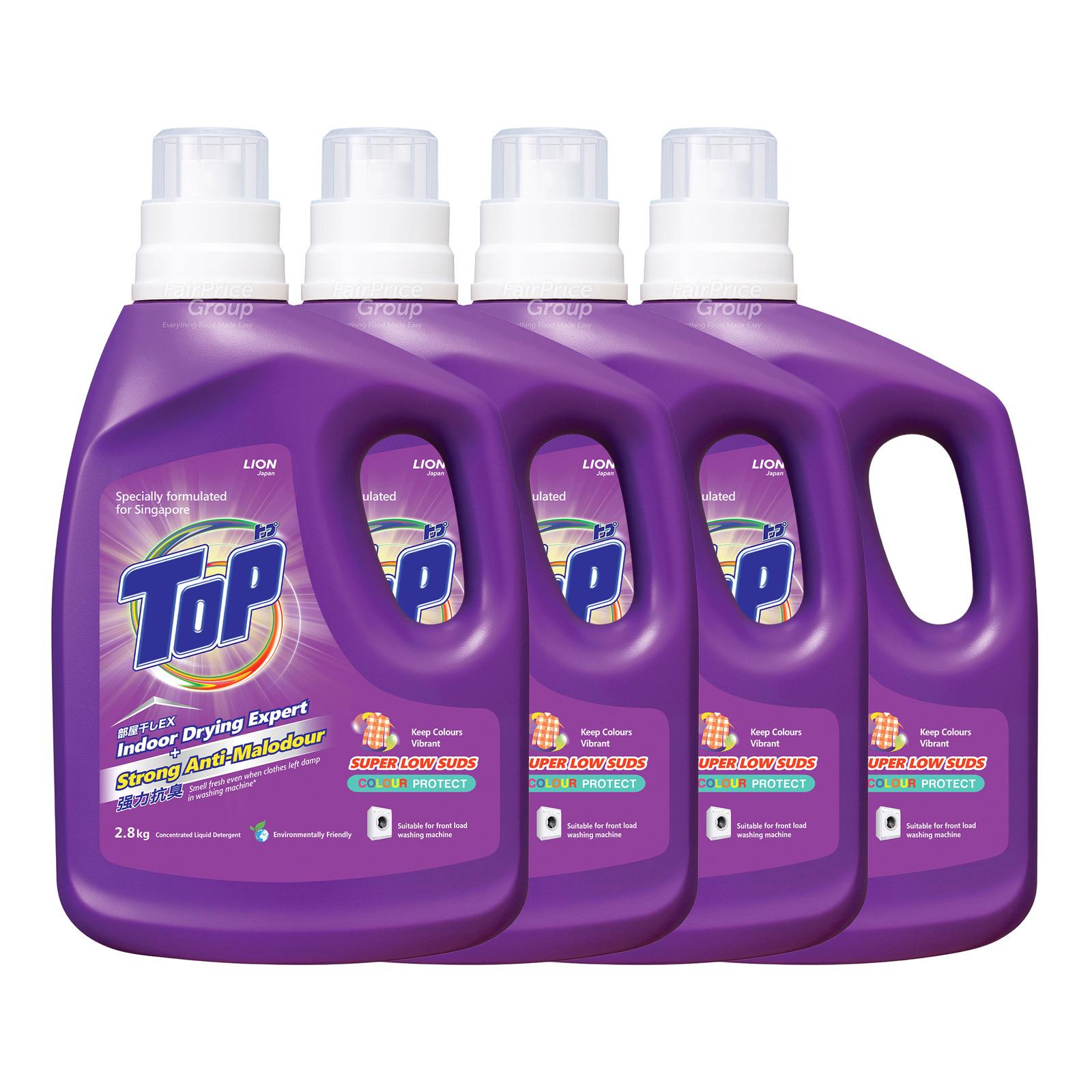 Top Concentrated Liquid Detergent - Super Low Suds