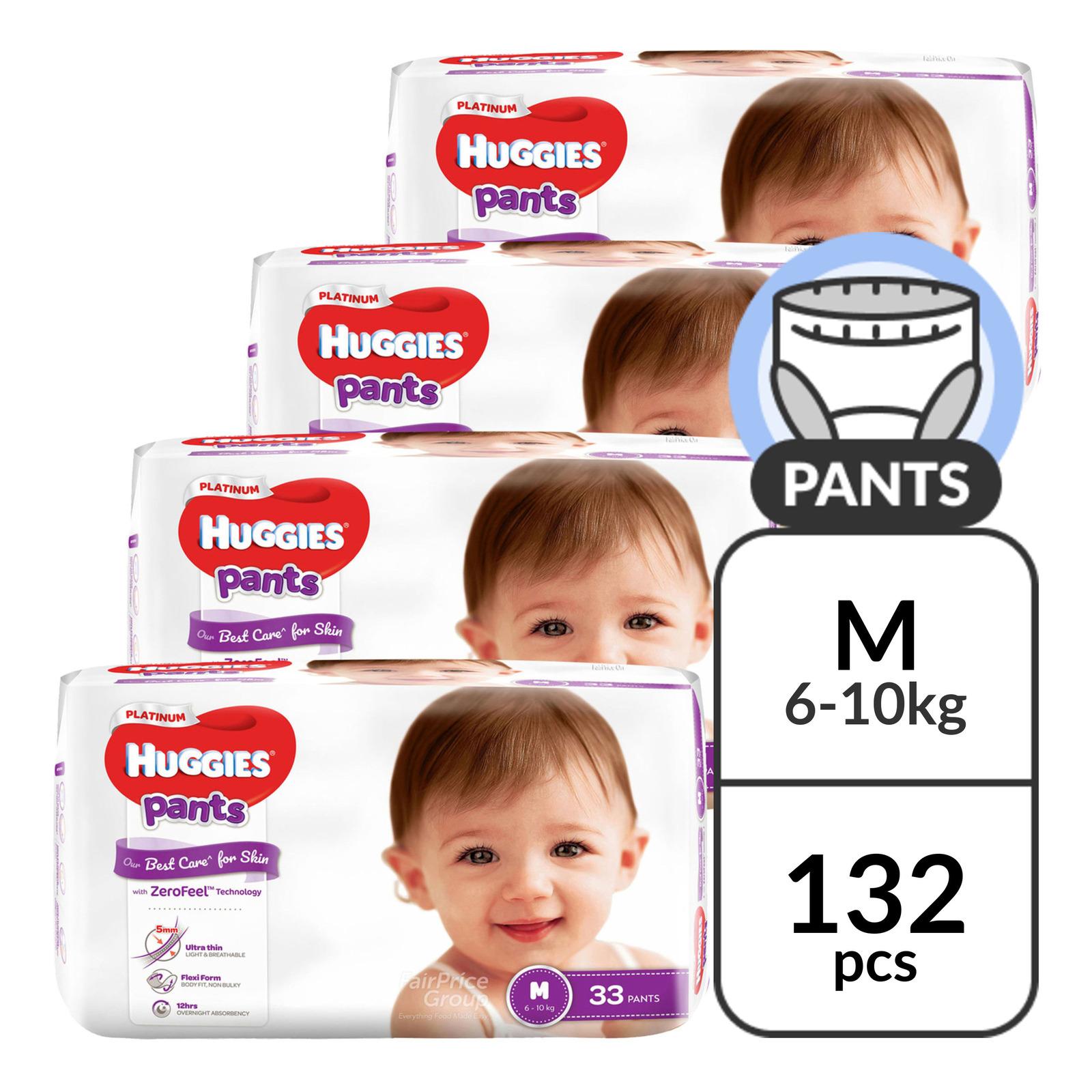 Huggies Platinum Pants - M (6 - 10kg)
