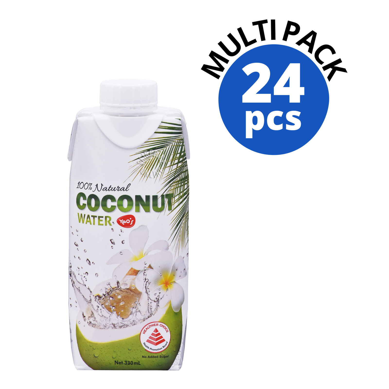 Yeo's 100% Natural Coconut Packet Water