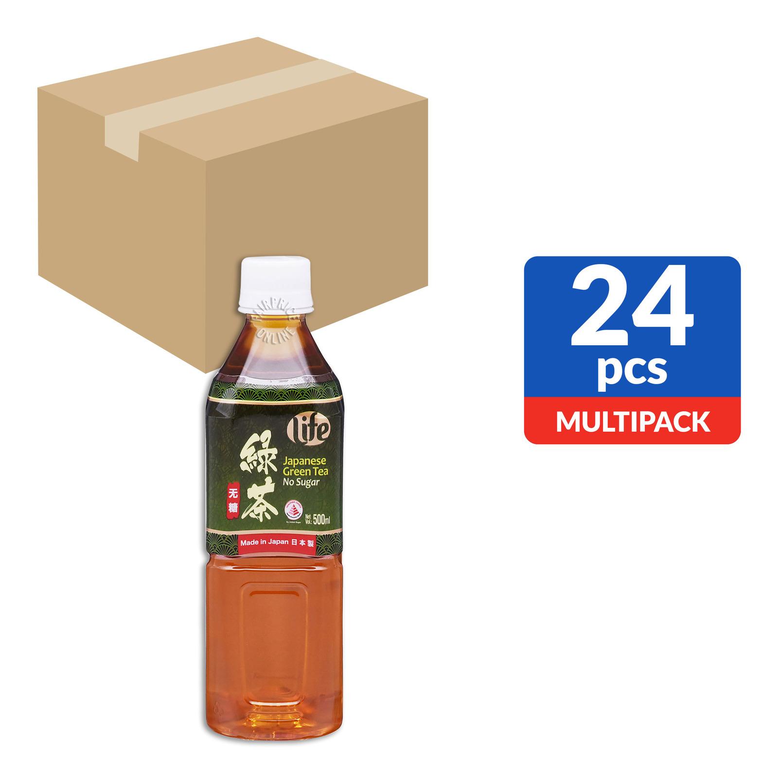 #Life Bottle Drink - Japanese Green Tea (No Sugar)