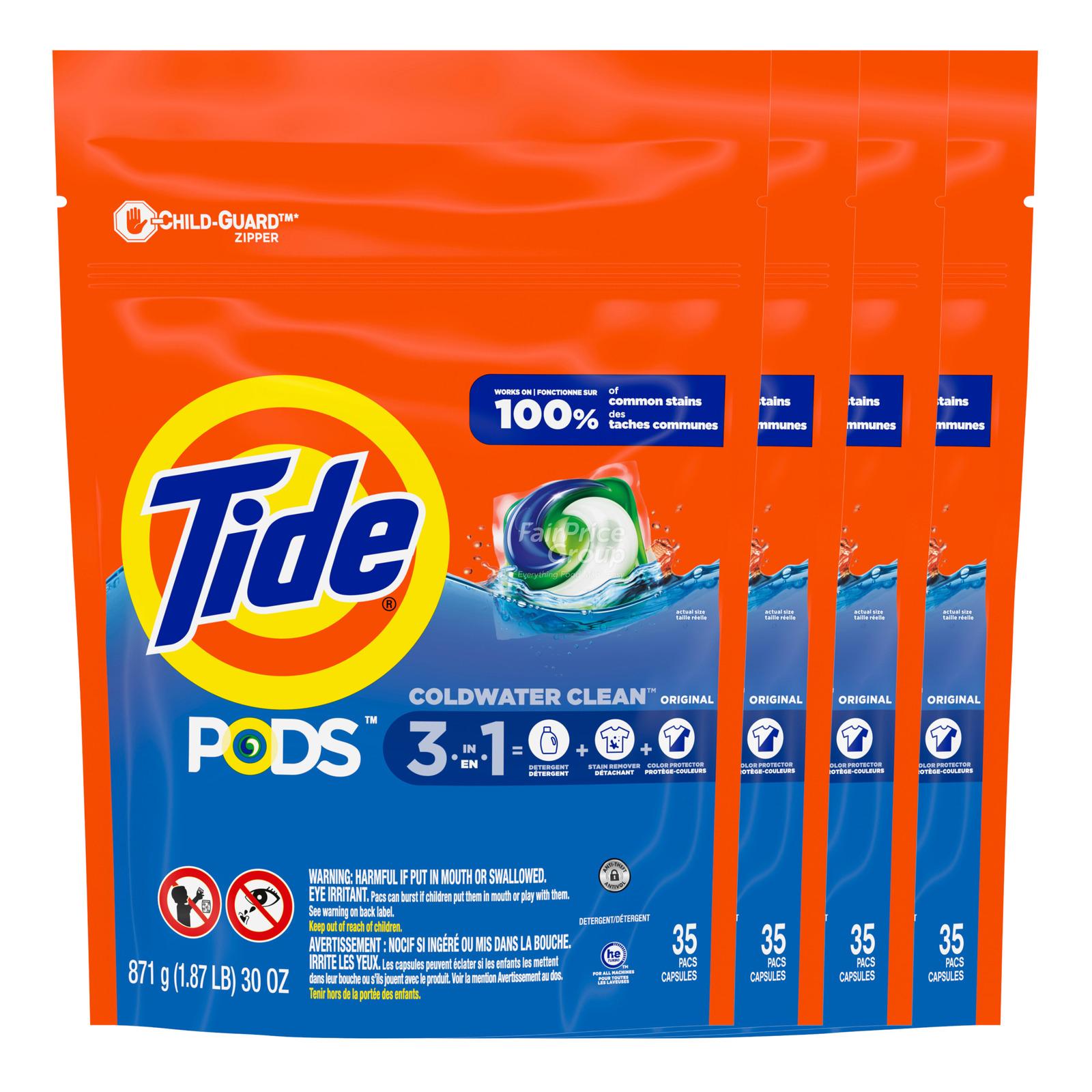 Tide 3-in1 Pods Capsule - Original