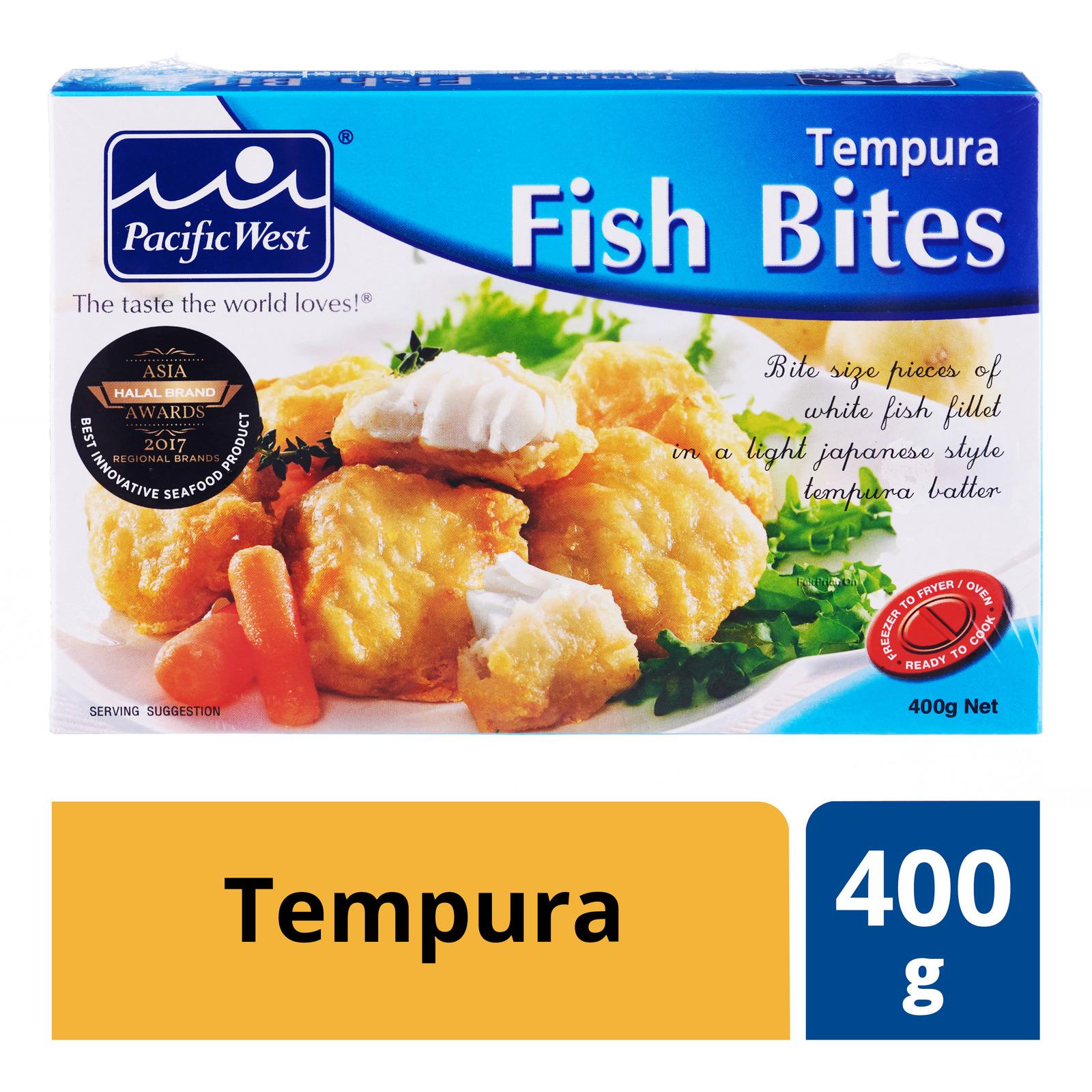 Pacific West Frozen Fish Bites Tempura