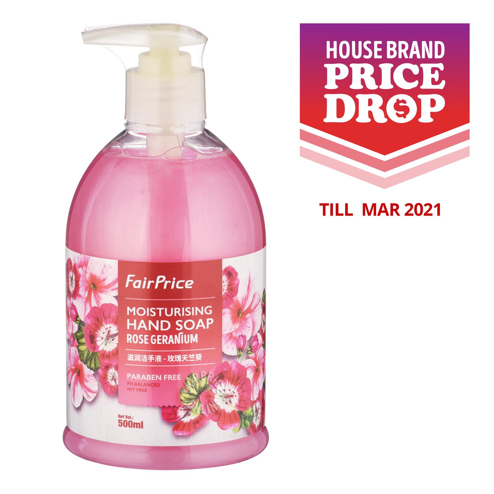 FairPrice Moisturising Hand Soap - Rose Geranium