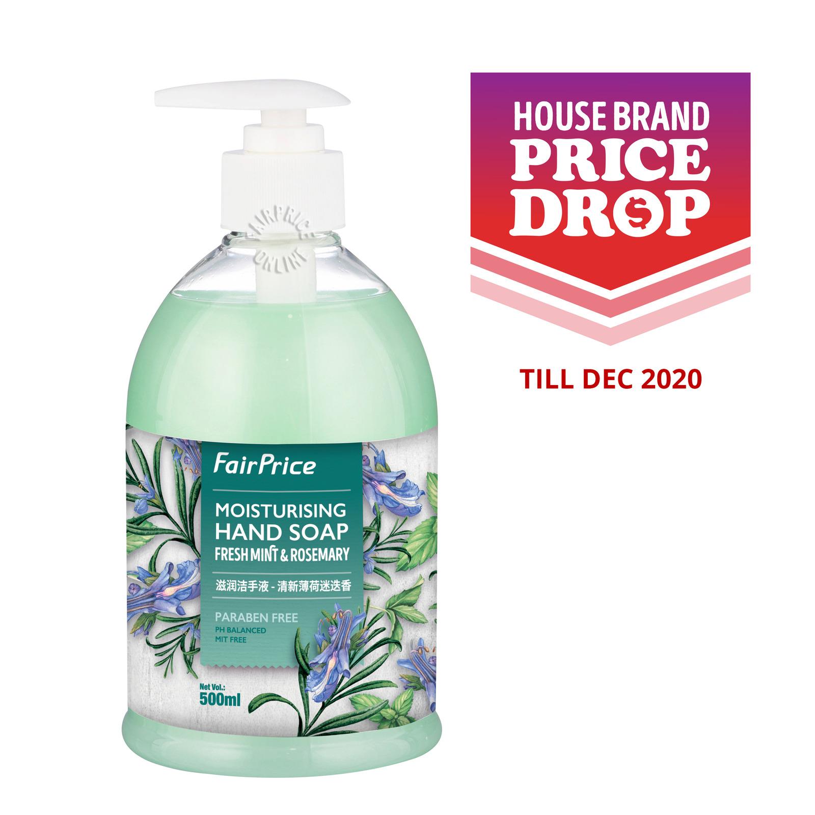 FairPrice Moisturising Hand Soap - Fresh Mint & Rosemary