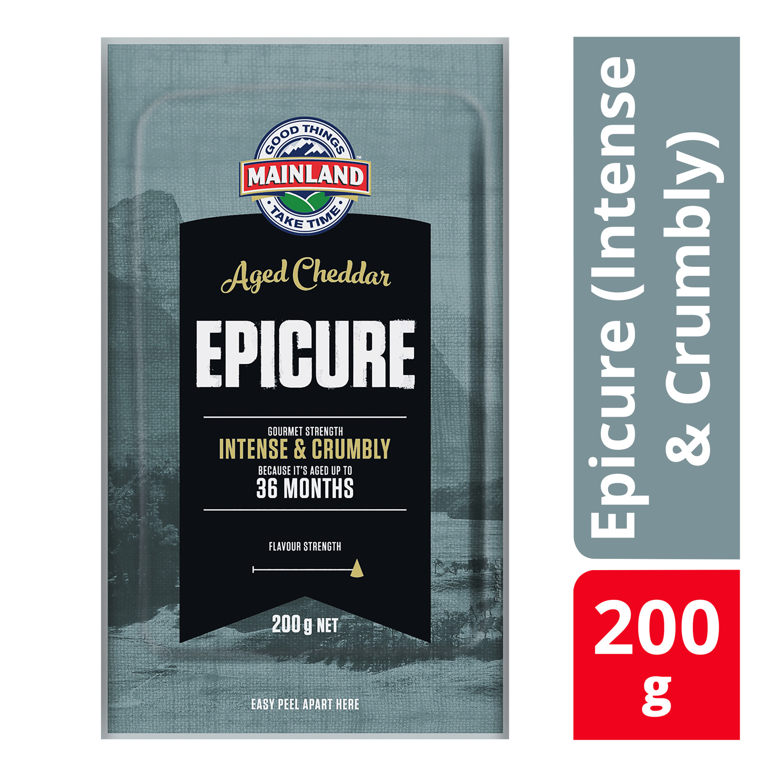 Mainland Block Cheese - Epicure (Intense & Crumbly)