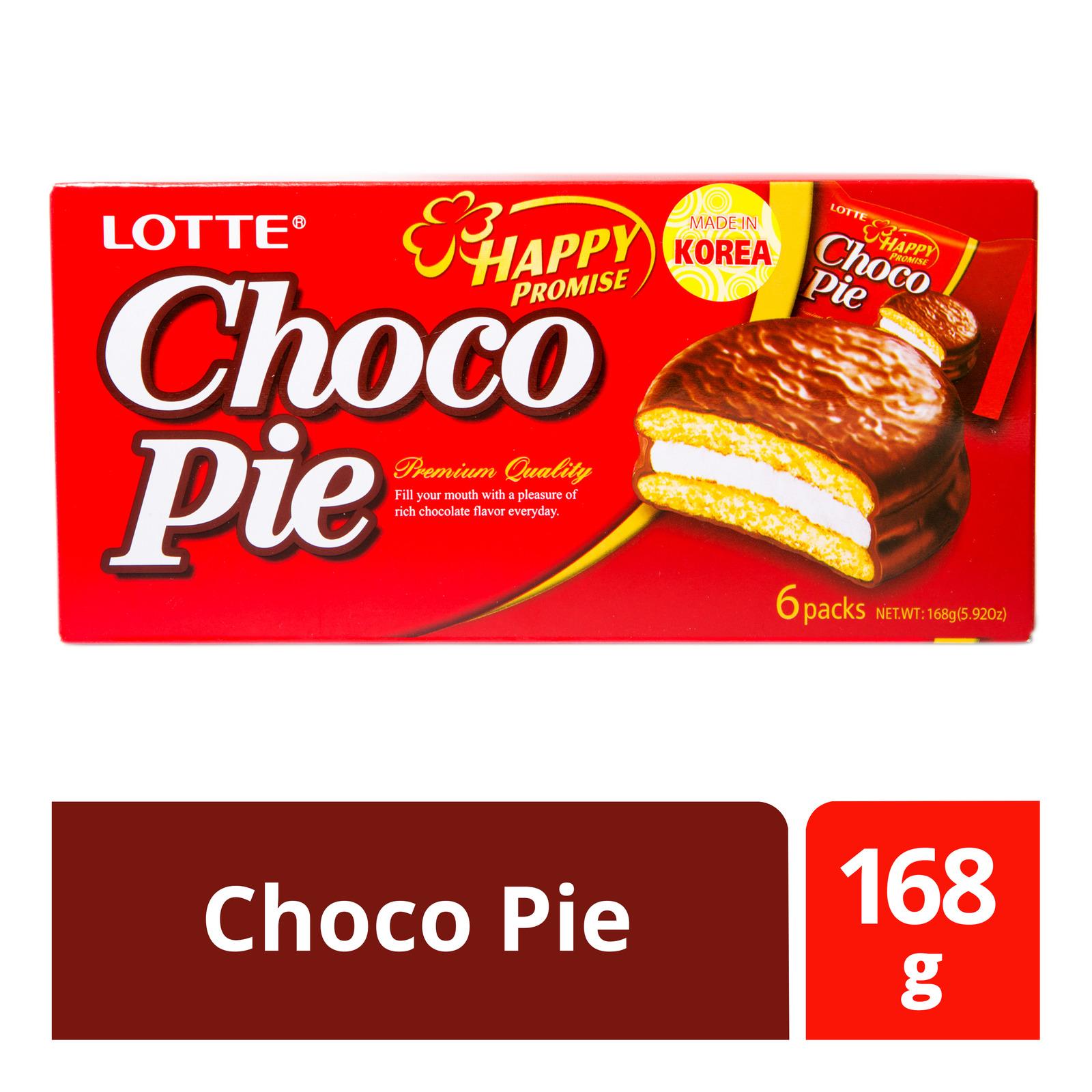 Lotte Happy Promise Choco Pie