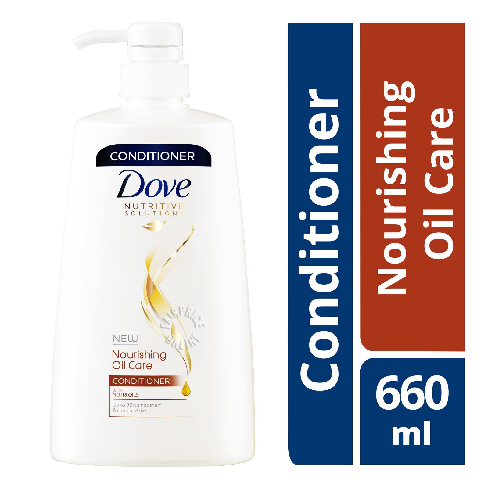 Dove Conditioner - Nourishing Oil Care