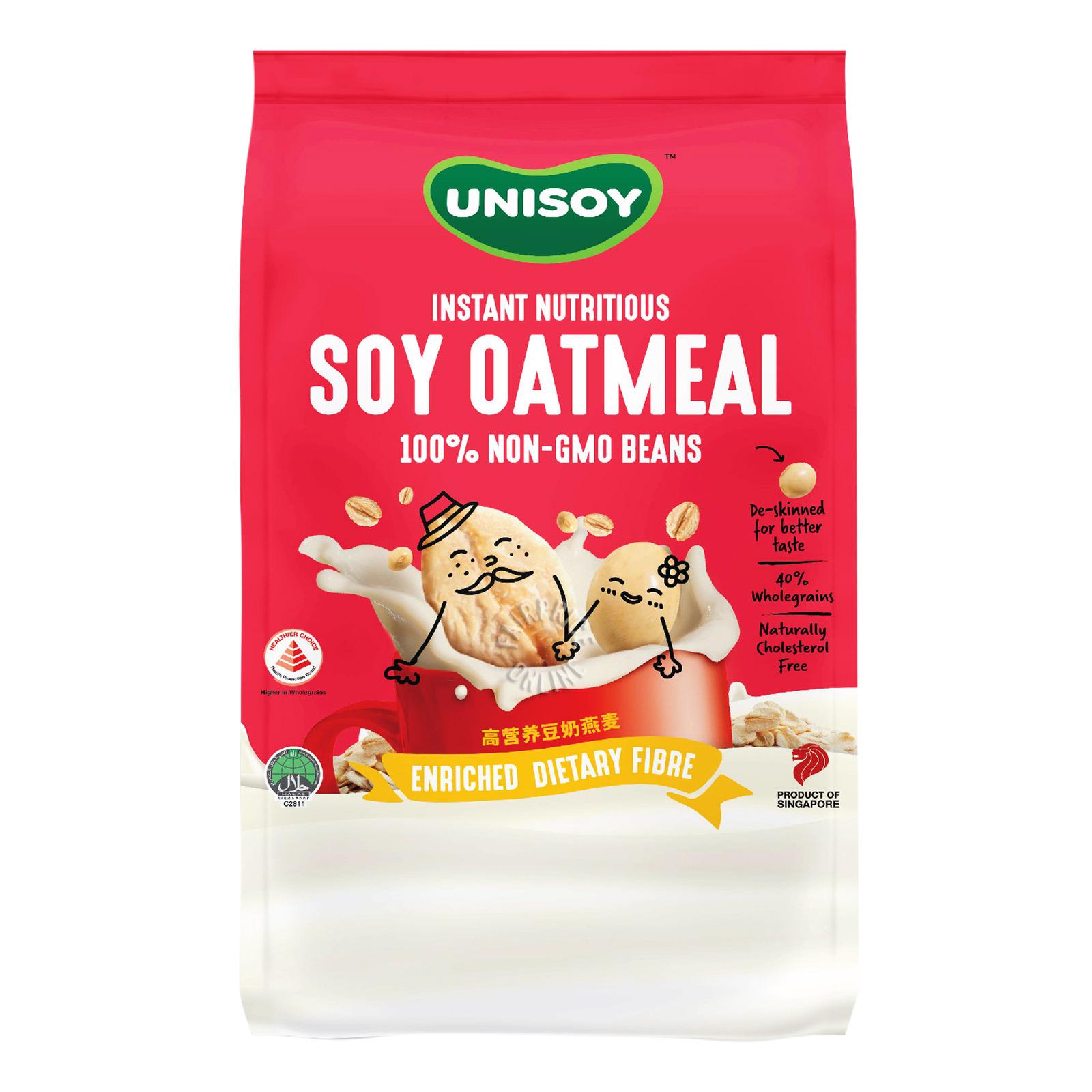 Unisoy Instant Nutritious Soya Oatmeal