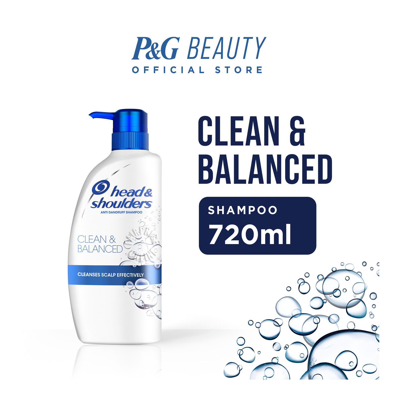 Head & Shoulders Anti-Dandruff Shampoo - Clean & Balanced