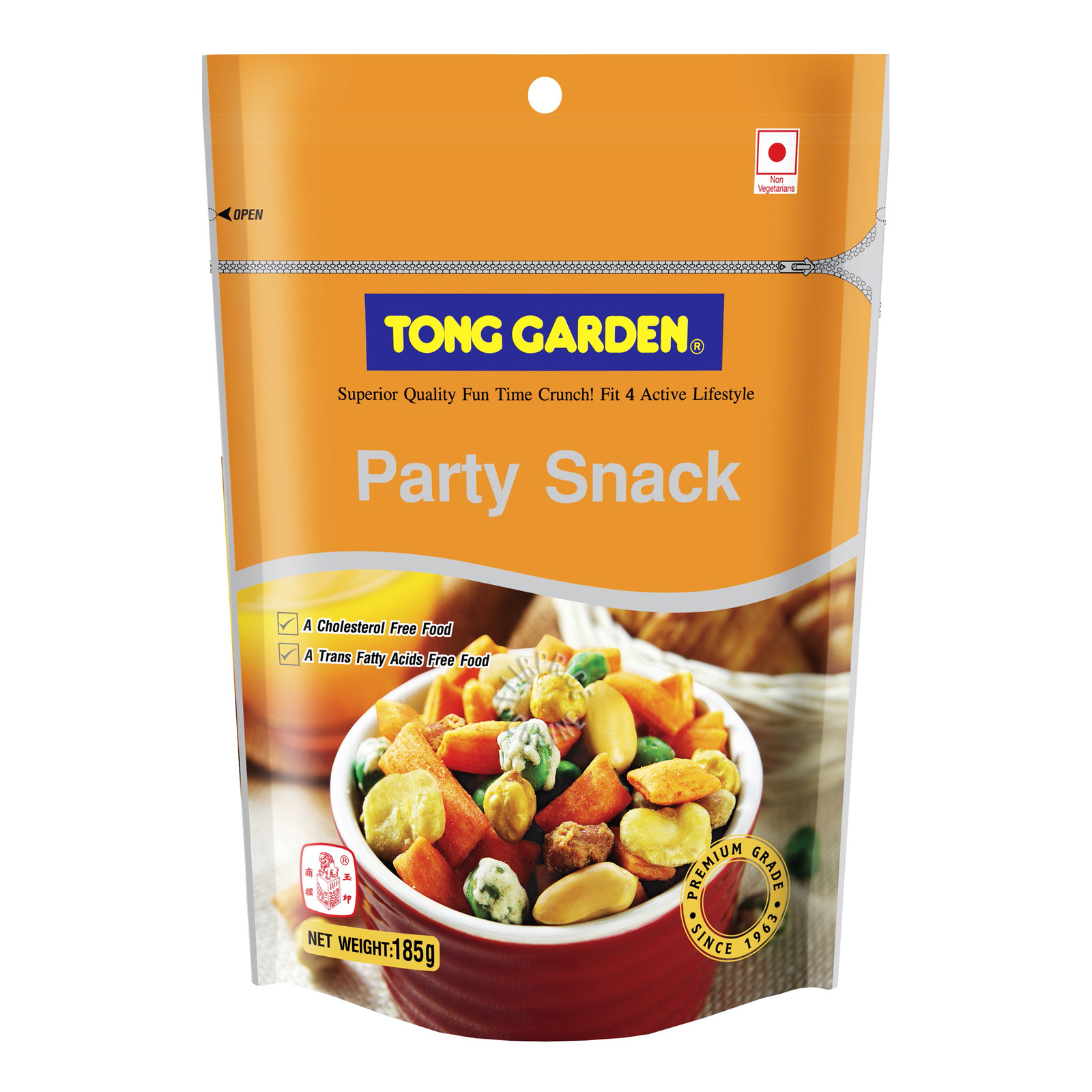T/Garden Salted Party Snack 185G