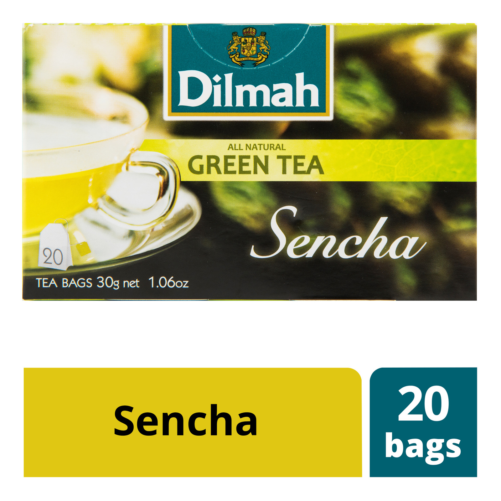 Dilmah Tea Bags - Sencha Green Tea