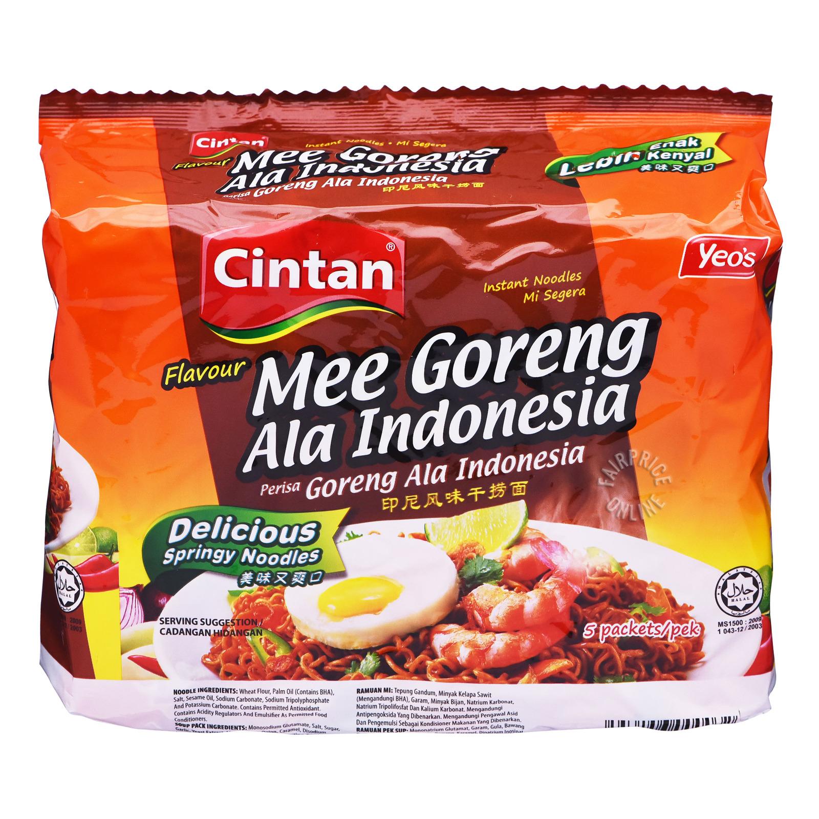 Cintan Instant Noodles - Mi Goreng