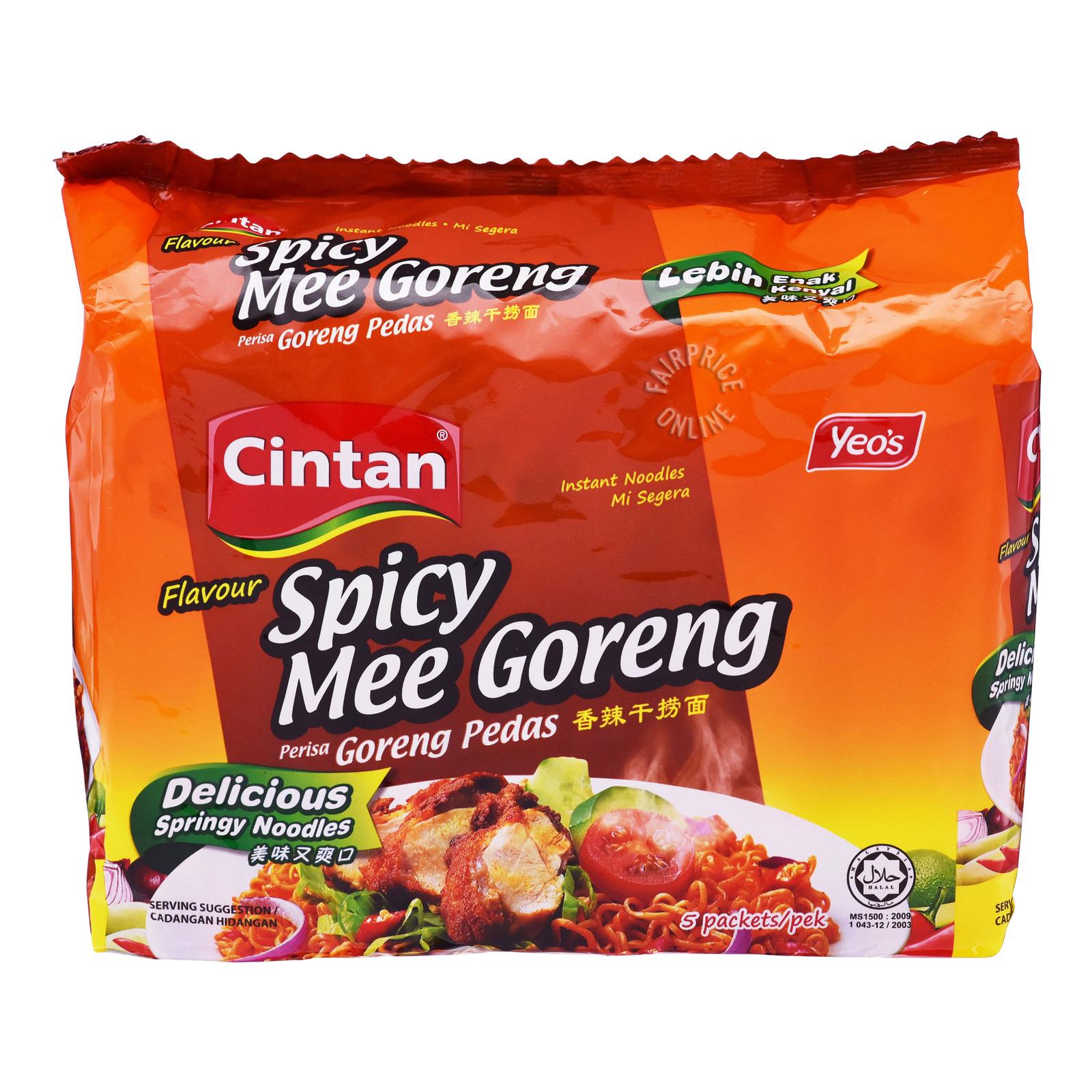 Cintan Instant Noodles - Mi Goreng Spicy