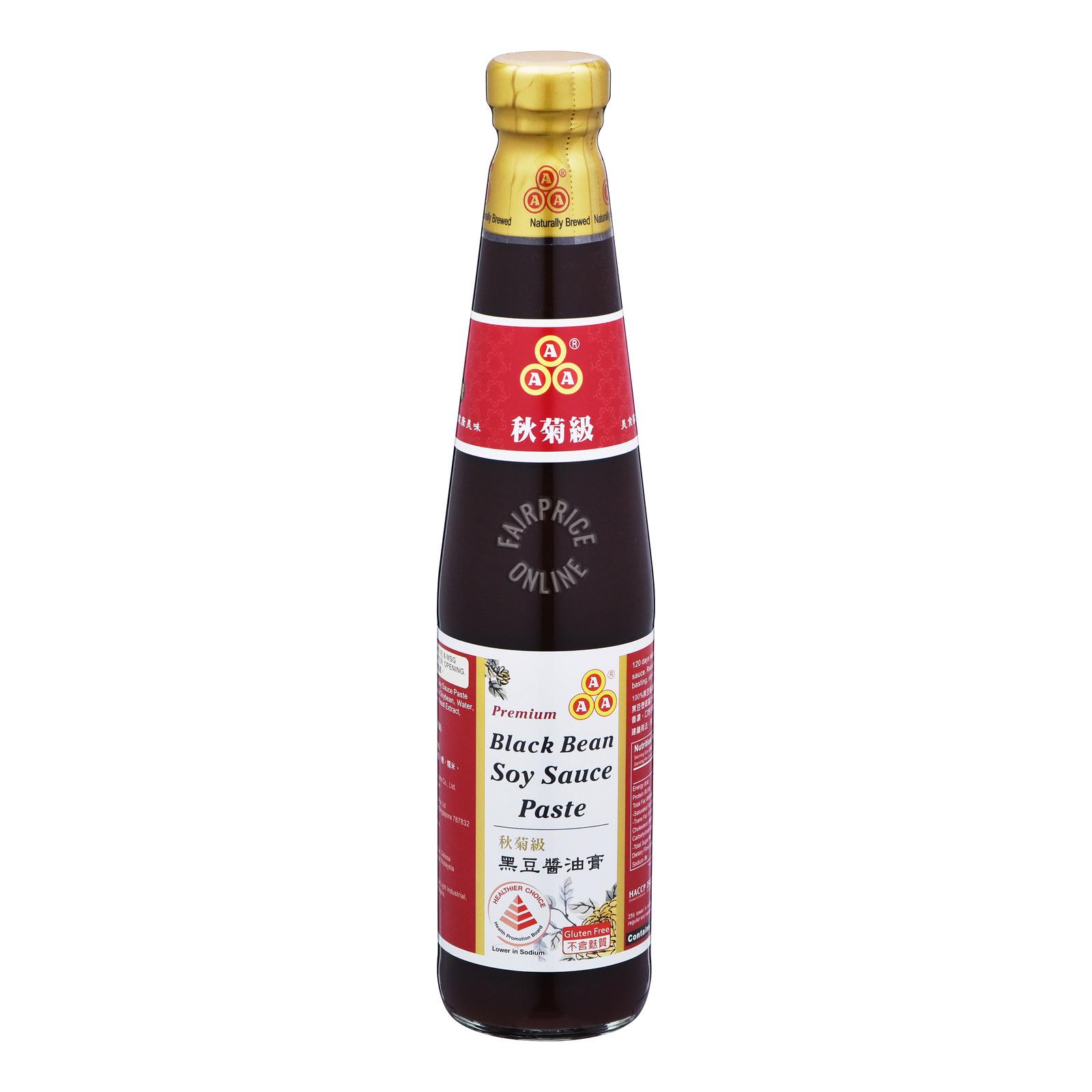 AAA Premium Black Bean Soy Sauce Paste