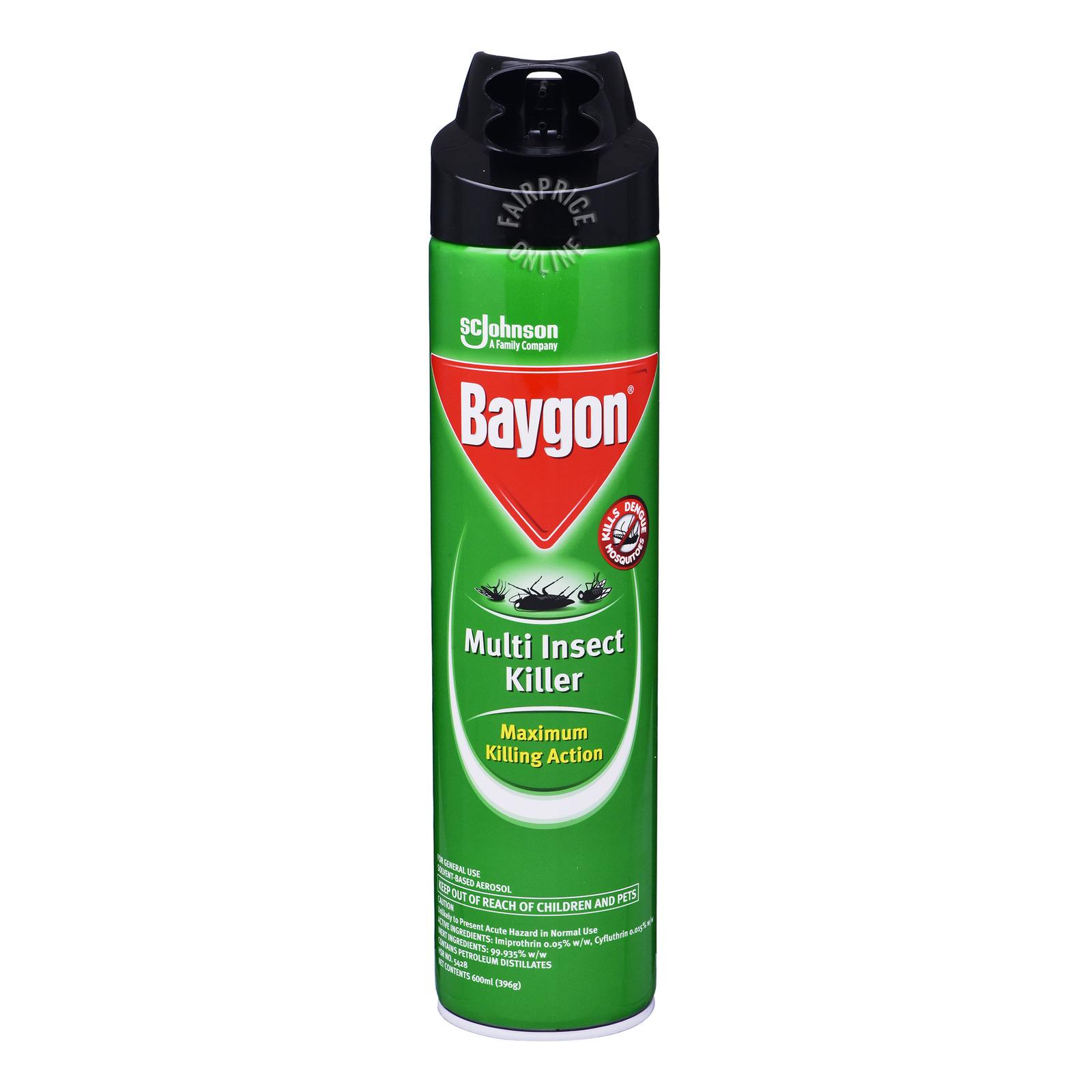 Baygon Multi Insect Killer - Maximum Killing Action