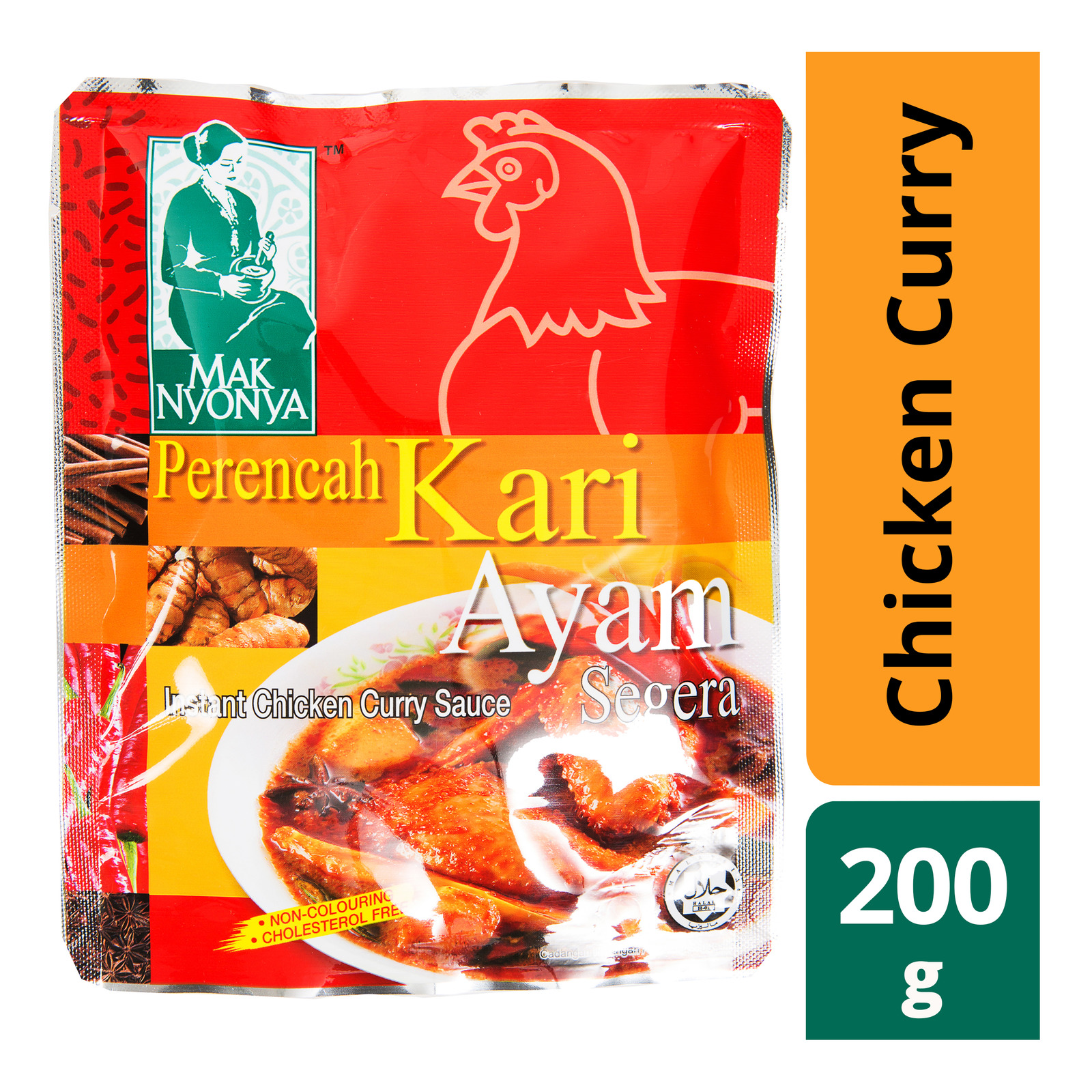 Mak Nyonya Instant Sauce - Chicken Curry