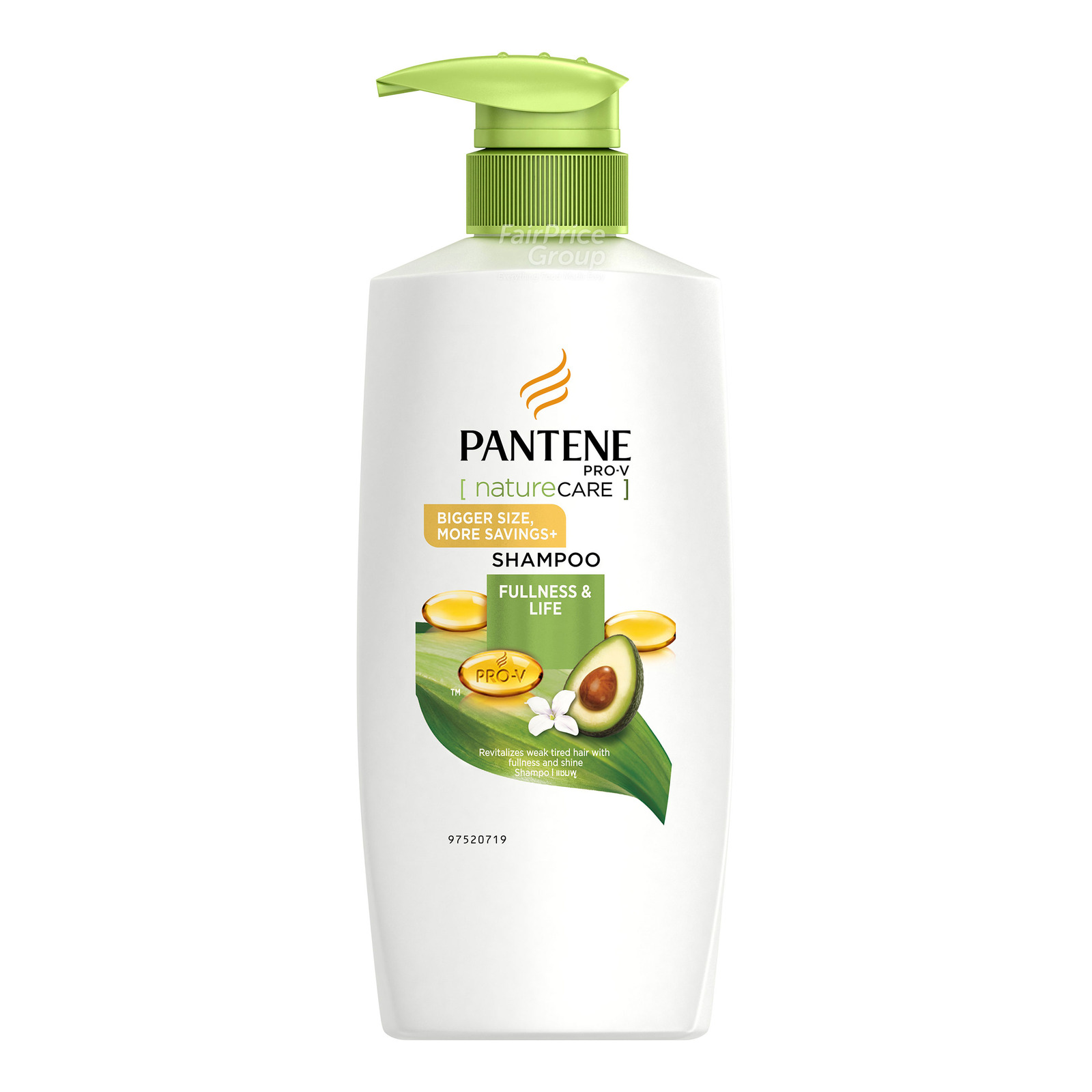 Pantene Pro-V Shampoo - Nature Care Fullness & Life
