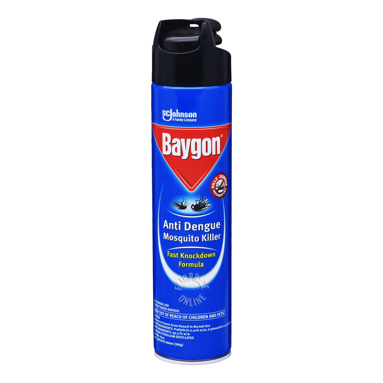 Baygon Anti Dengue Mosquito Killer - Fast Knockdown Formula