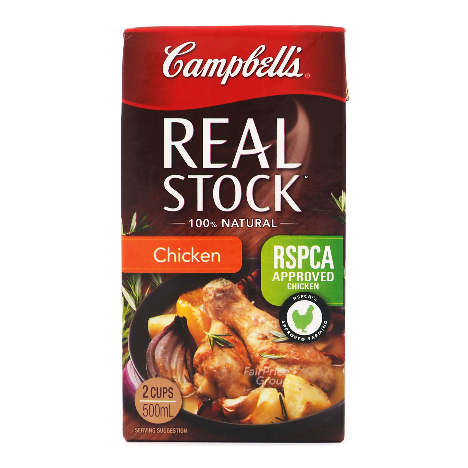 Campbell's 100% Natural Real Stock - Chicken