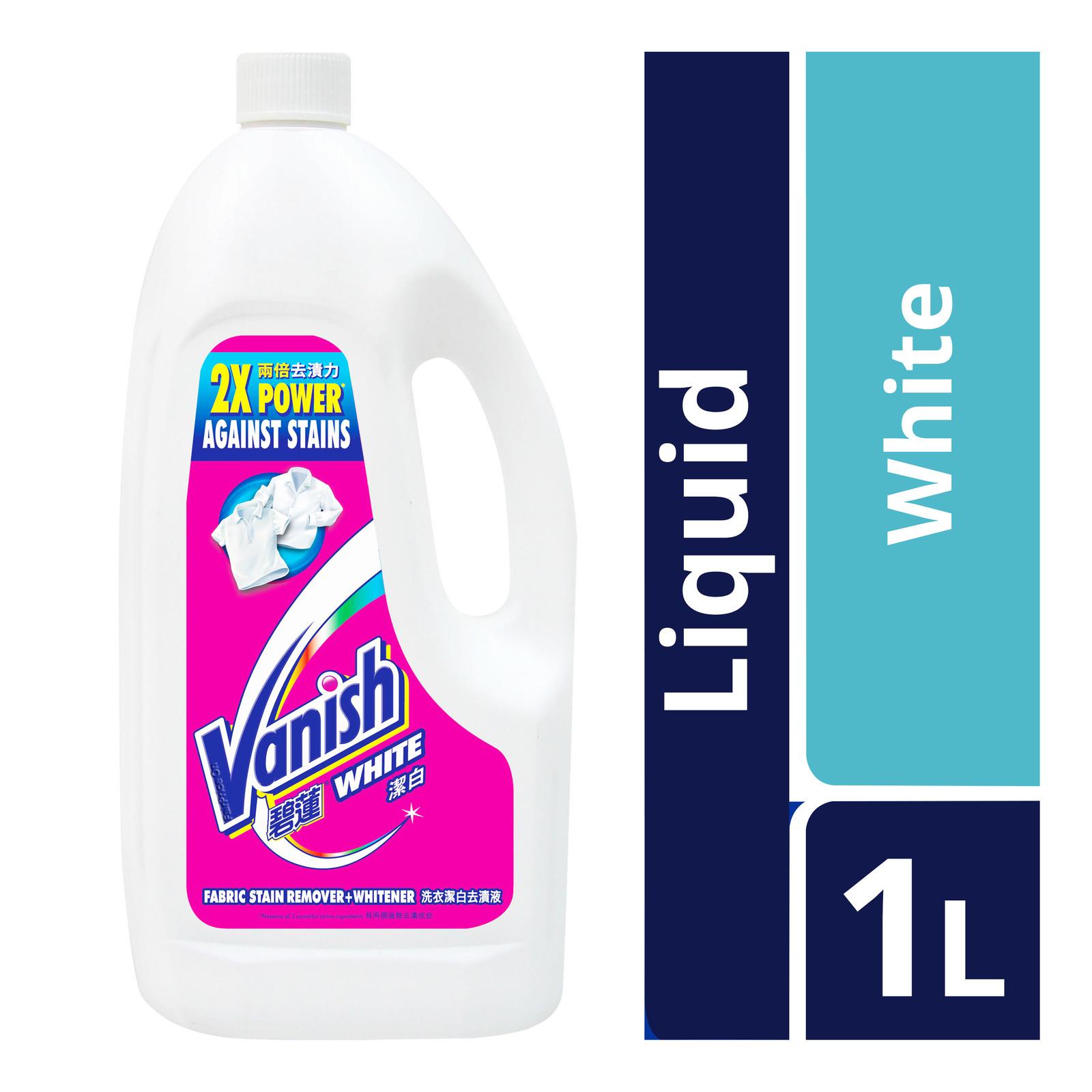 Vanish Liquid Fabric Stain Remover - White