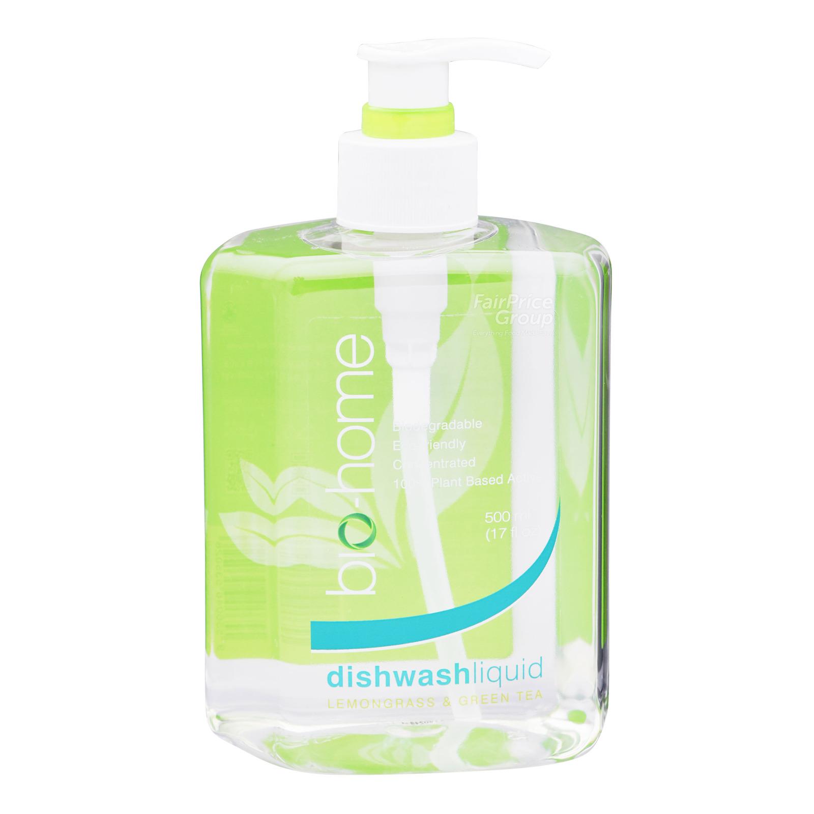 Bio-Home Dishwash Liquid - Lemongrass & Green Tea