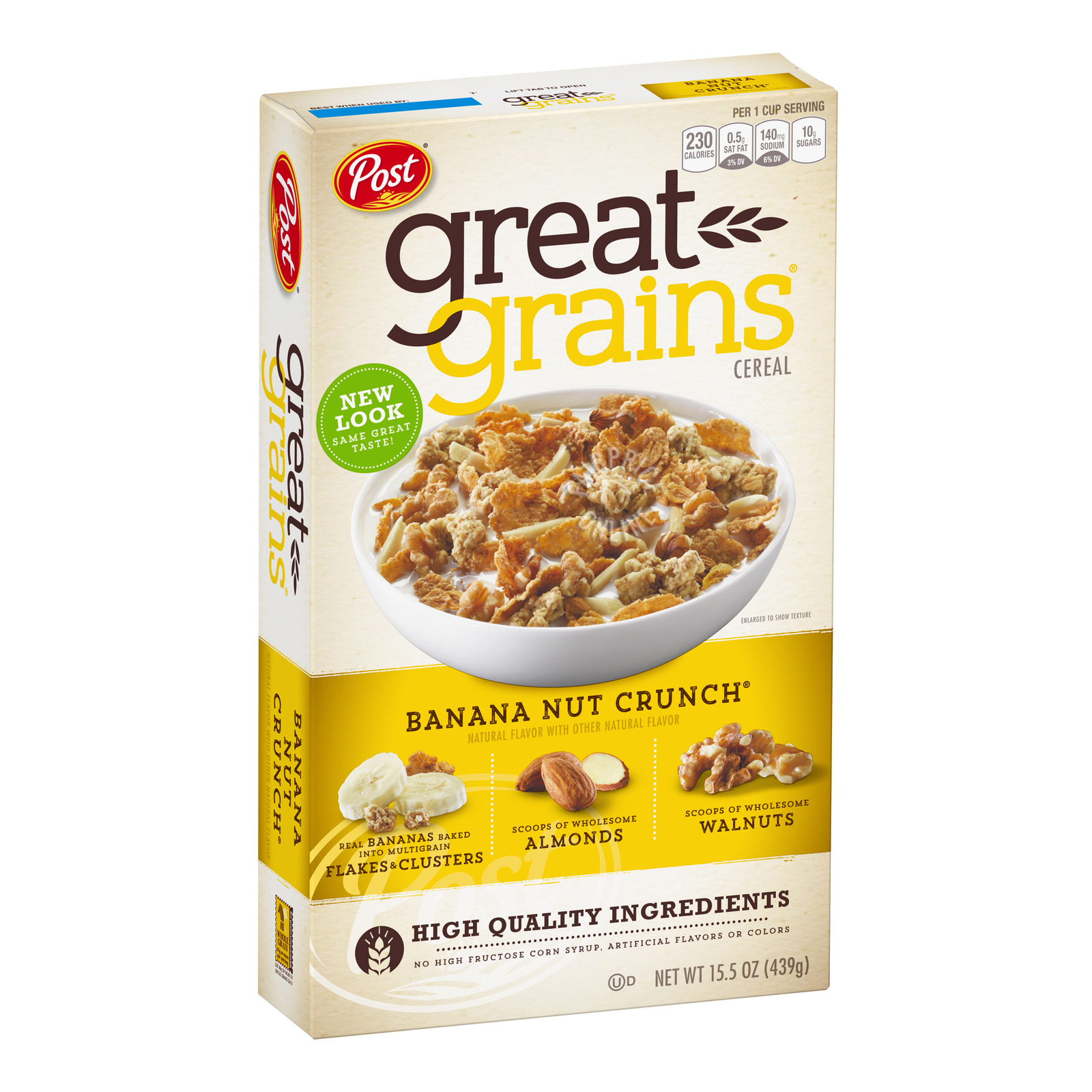 Post Great Grains Cereal - Banana Nut Crunch