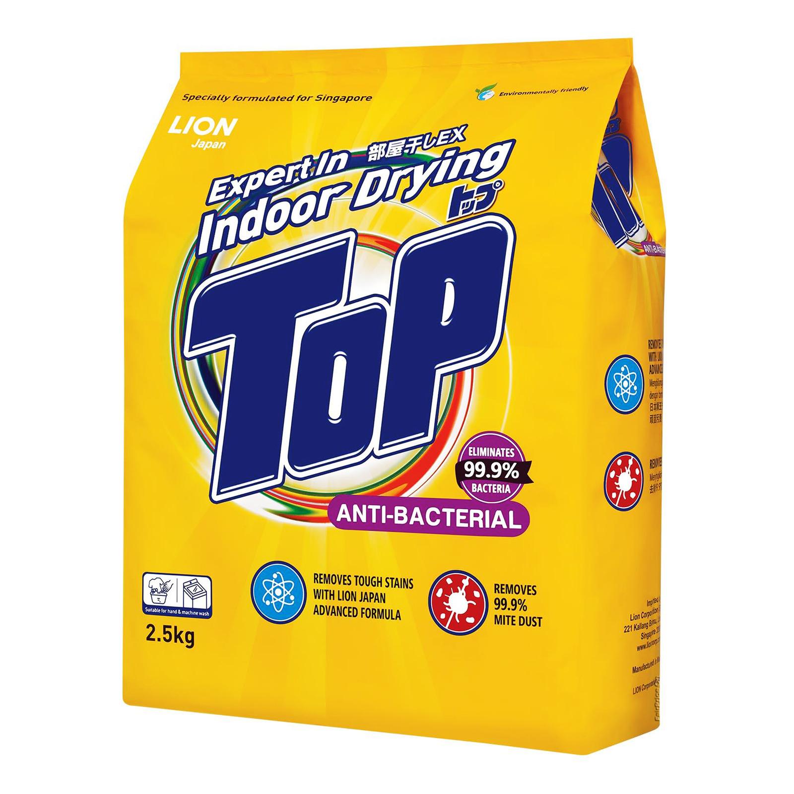 Top Detergent Powder - Anti-Bacterial