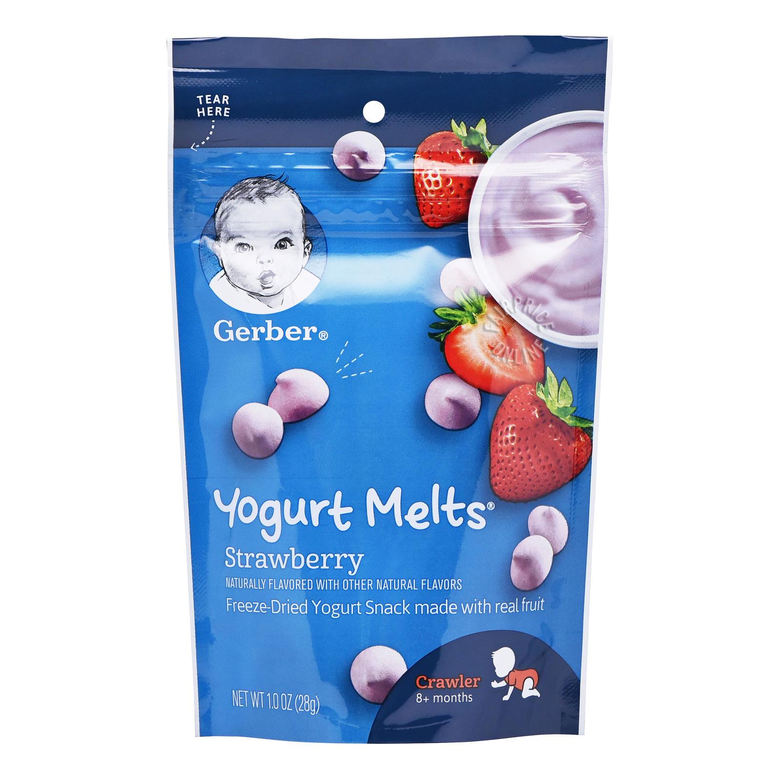 Gerber Graduates Baby Yogurt Melts - Strawberry