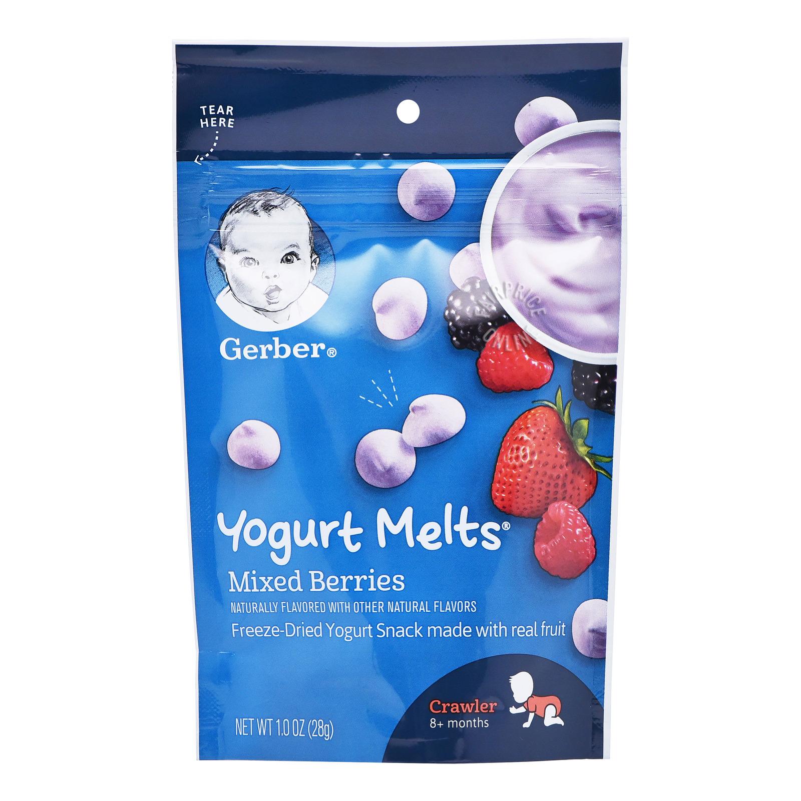 Gerber Graduates Baby Yogurt Melts - Mixed Berries