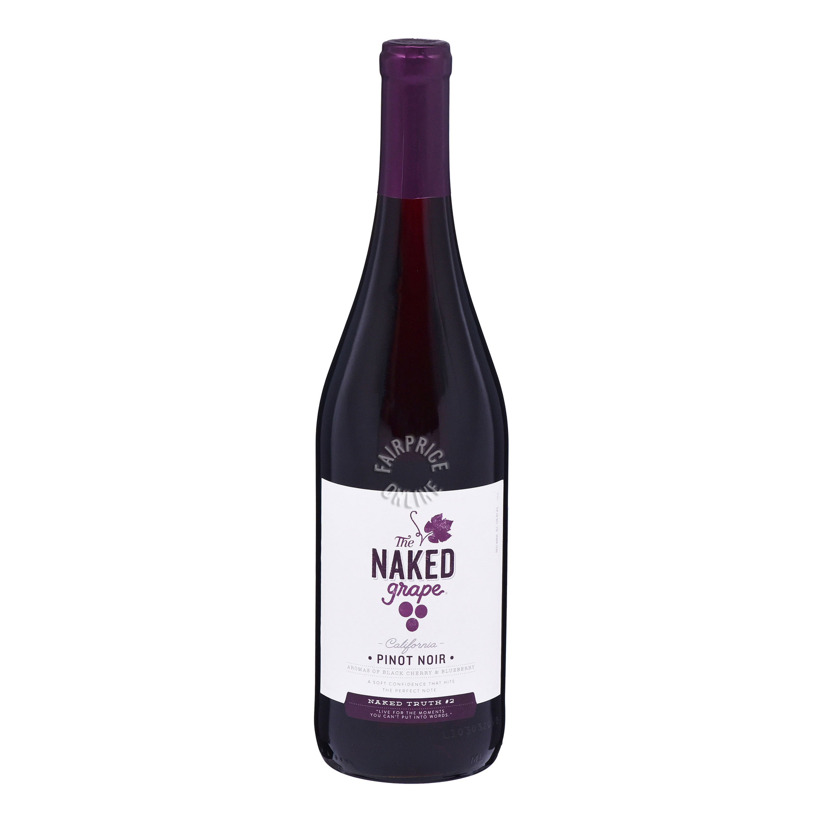 The Naked Grape Red Wine - Pinot Noir