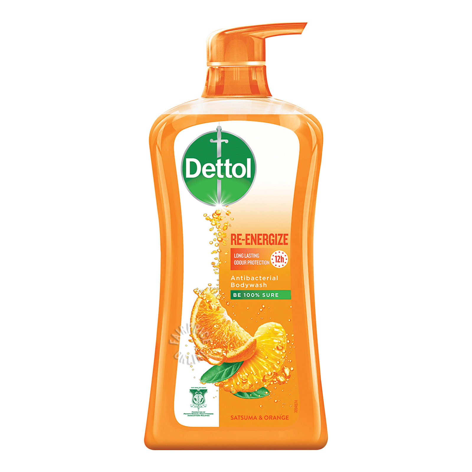Dettol Anti-Bacterial pH-Balanced Body Wash - Re Energize