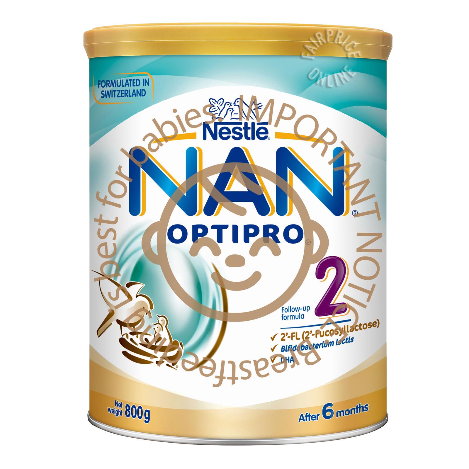 Nestle Nan Optipro Follow Up Formula 2'-FL - Stage 2