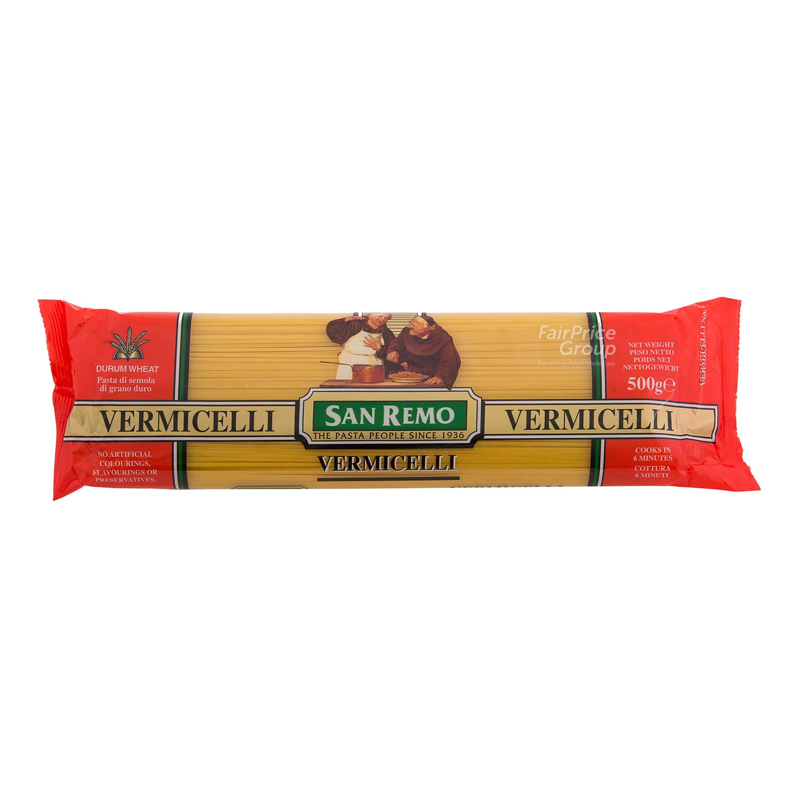 San Remo Pasta Vermicelli (NO.2)500G